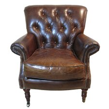 Belfort Leather Lube Chair by White x White