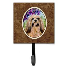 Lhasa Apso Leash Holder and Key Hook by Caroline's Treasures