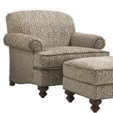 Coventry Hills Asbury Armchair and Ottoman by Lexington