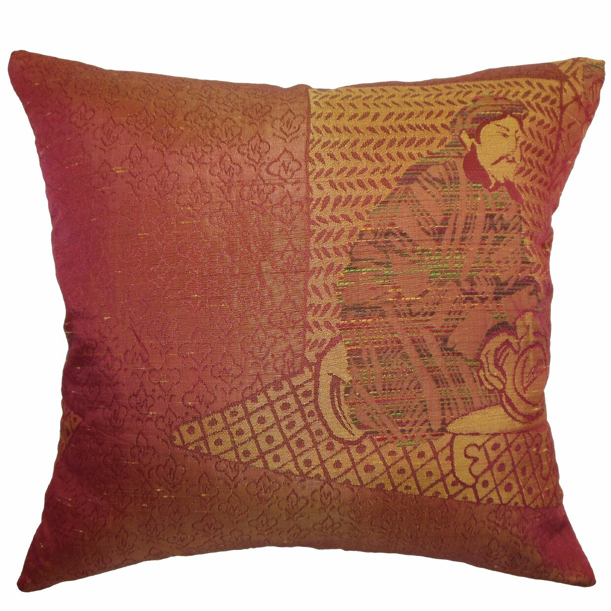 Traditional Sofa Pillows : The Pillow Collection Harb Traditional Throw Pillow Wayfair