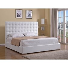 Bella King Upholstered Platform Bed by Casabianca Furniture