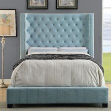 Martinson Upholstered Panel Bed by Willa Arlo Interiors