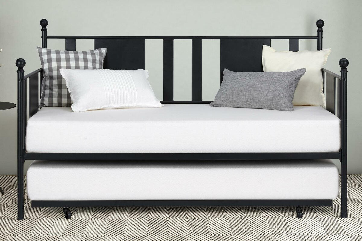 twin daybed design your life default name gracie oaks troupsburg twin daybed with trundle reviews wayfair