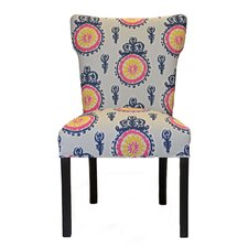 Calandra Cotton Wingback Cotton Side Chair (Set of 2) by Sole Designs