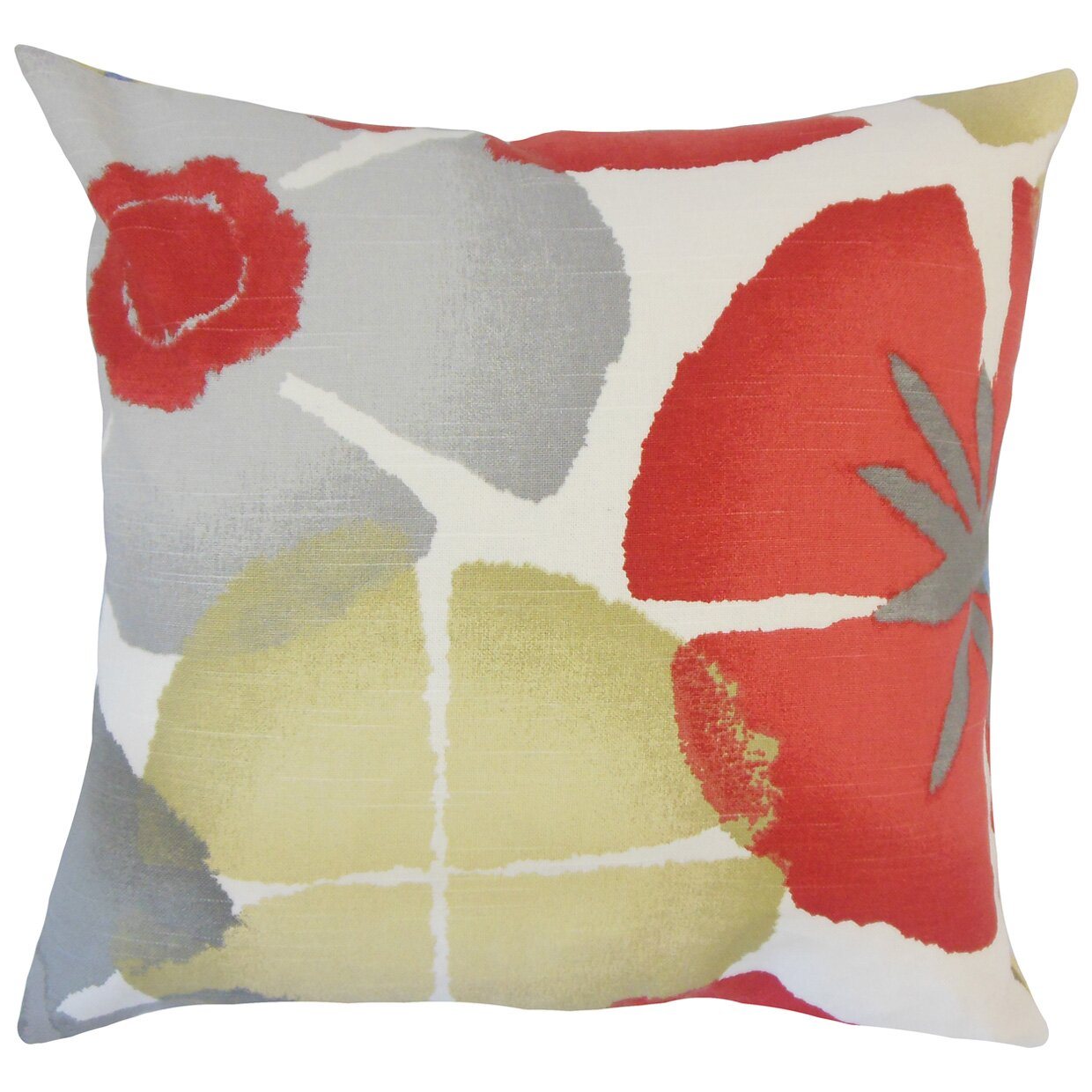 Red Barrel Studio Frierson Floral Floor Pillow Wayfair.ca