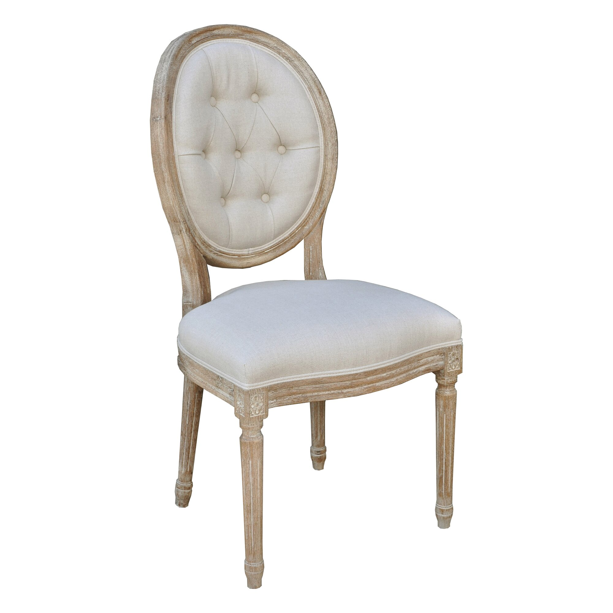 The Bella Collection King Louis Side Chair Reviews Wayfair