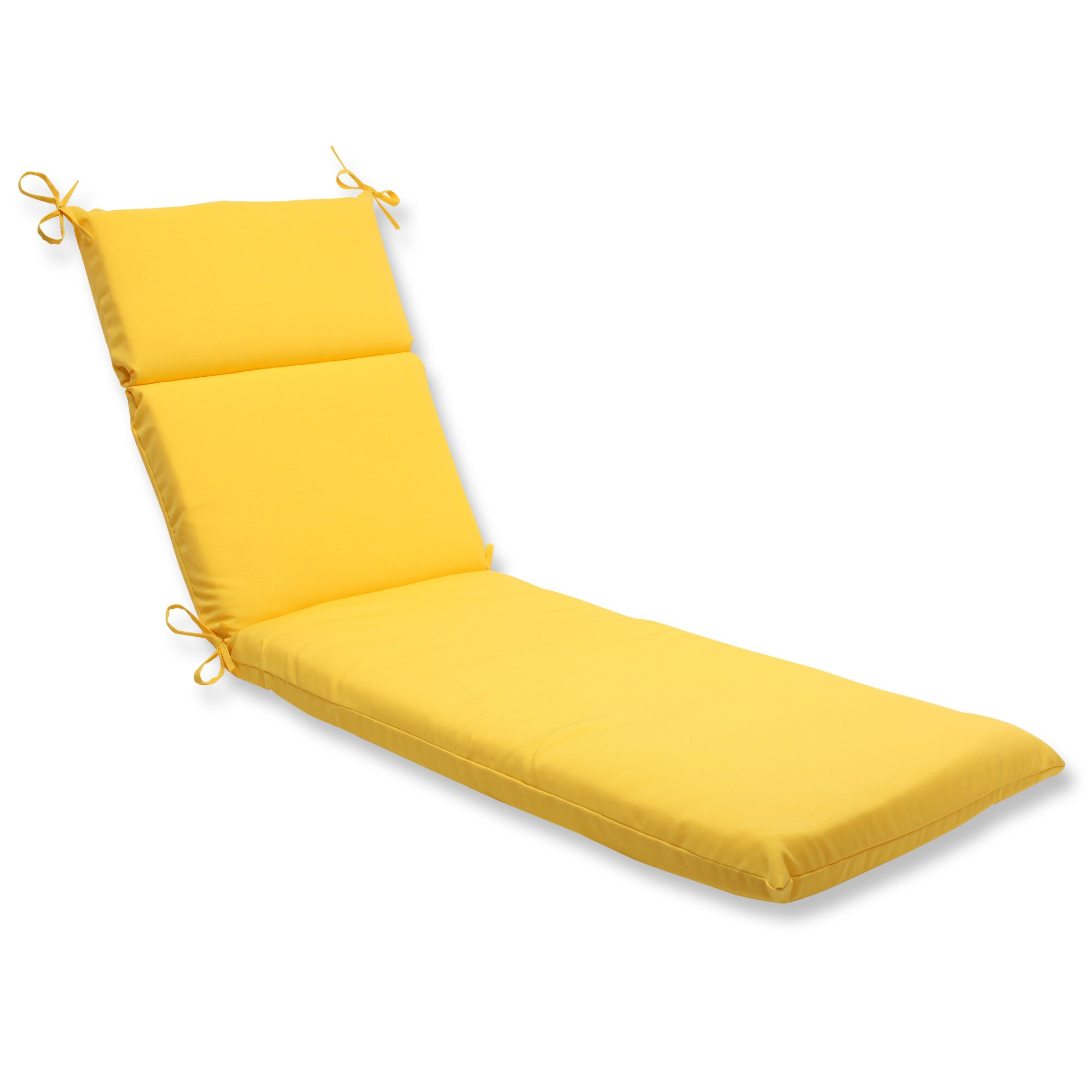 Pillow perfect fresco outdoor chaise lounge cushion for 23 w outdoor cushion for chaise