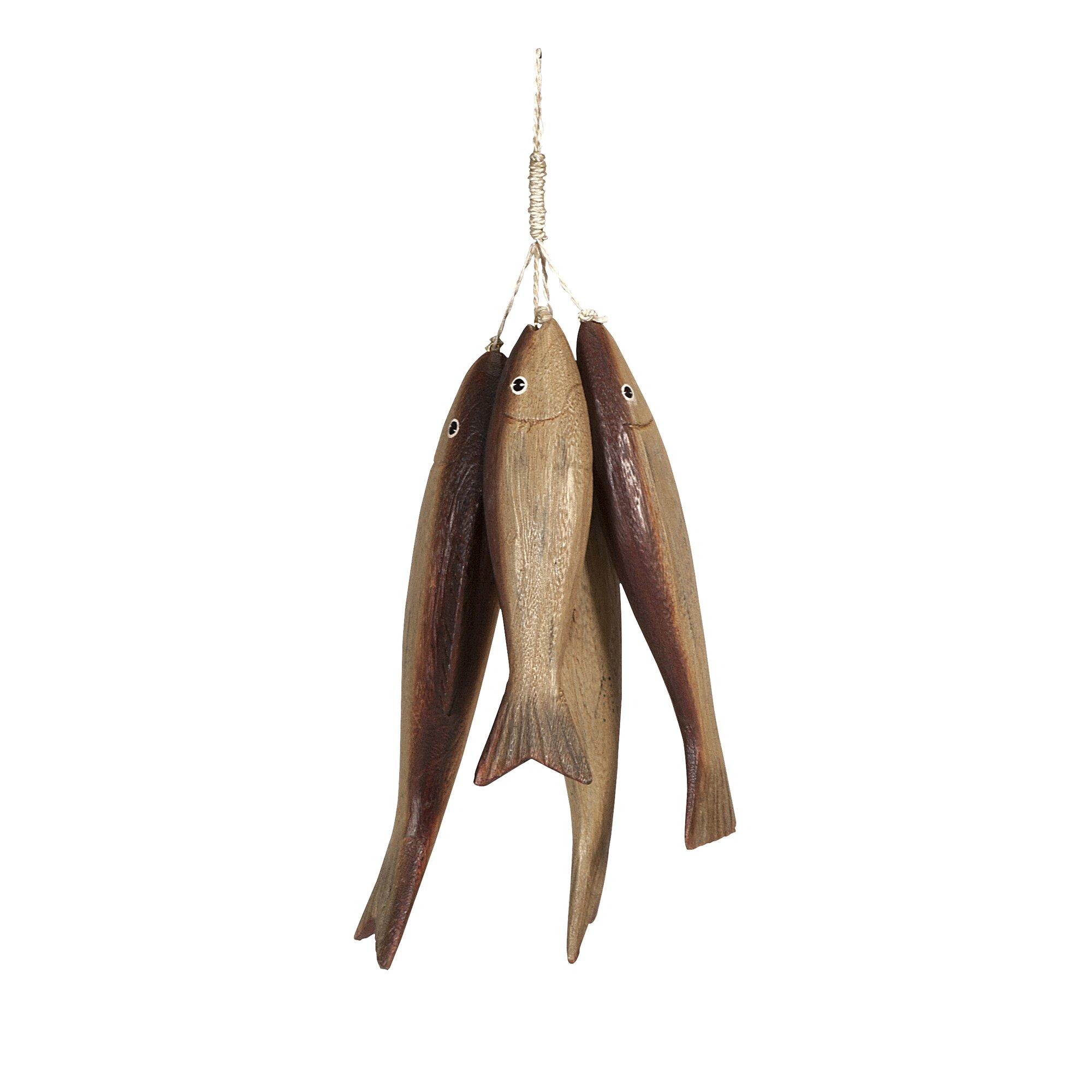 Imax wooden bundle o 39 fish reviews wayfair for P o fish