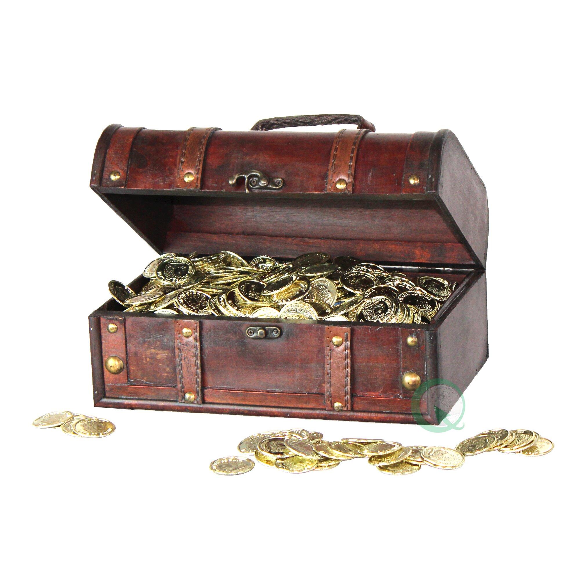 pirate treasure chest decorative box - Decorative Box