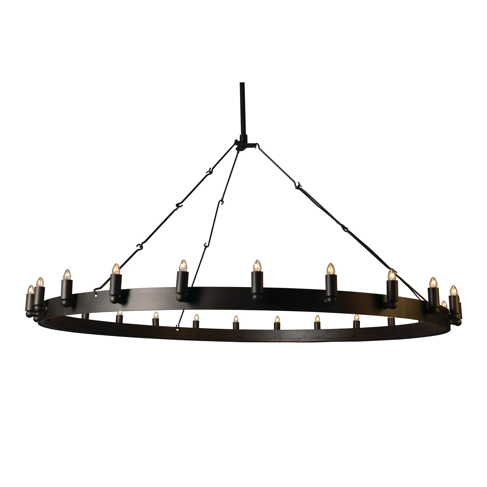 farrington 24 light candle style chandelier - Yosemite Home Decor