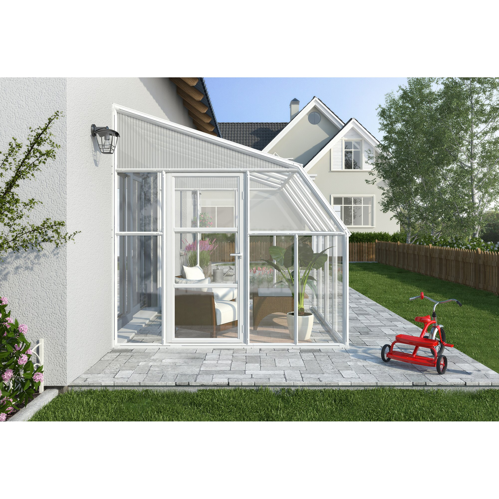 Rion sun room 2 8 ft w x 10 ft d greenhouse wayfair for 10ft by 10ft room