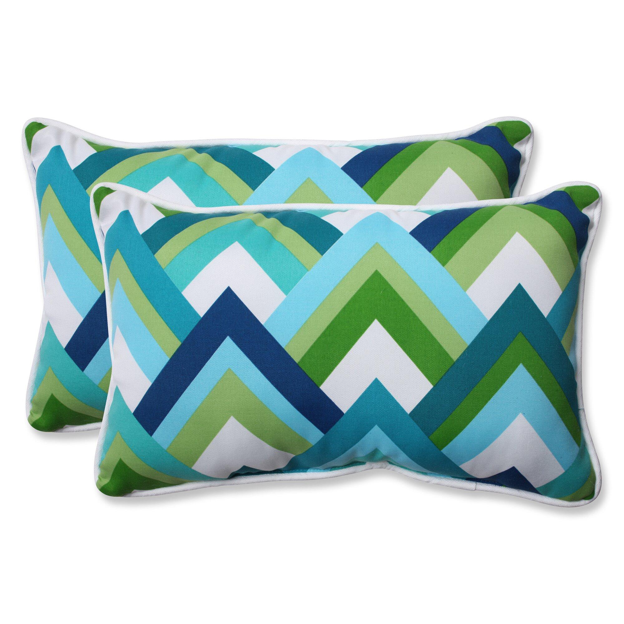 Pillow Perfect Indoor Outdoor Lumbar Pillow Amp Reviews