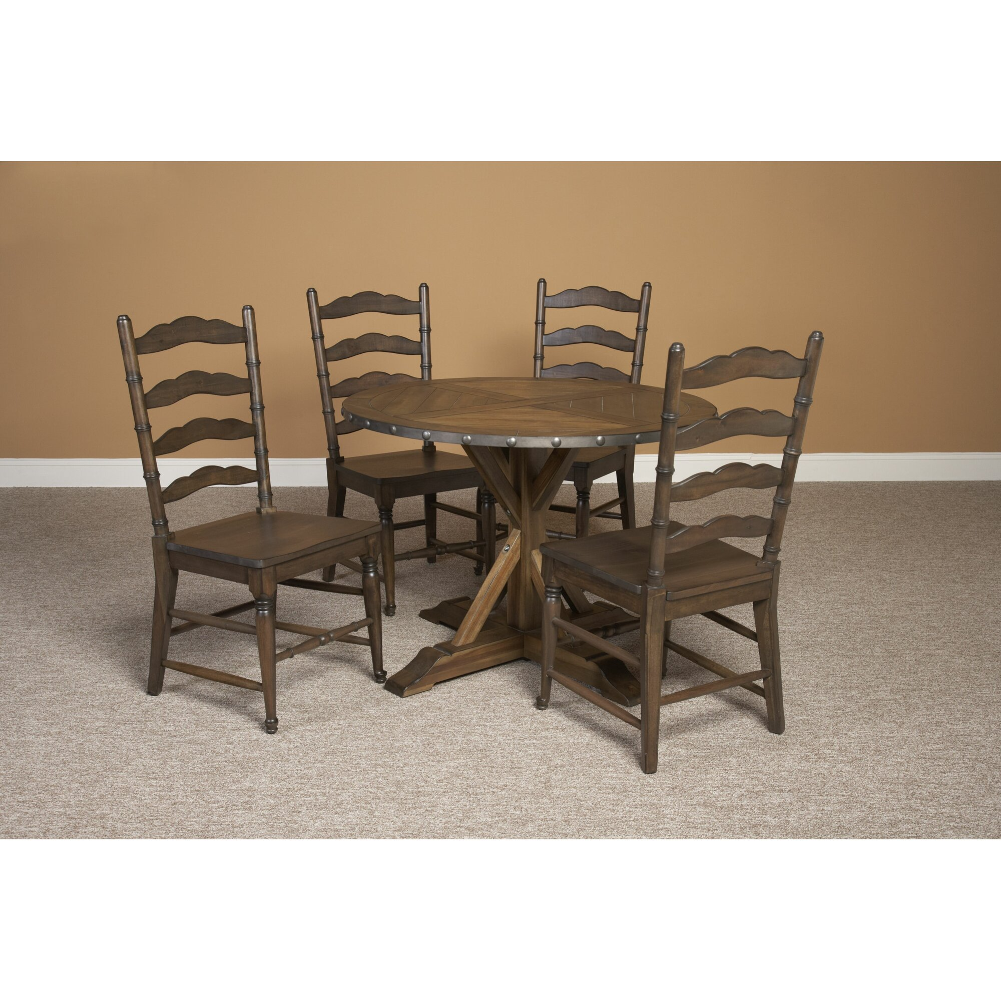 Largo lance dining table reviews wayfair for Table 85 restaurant