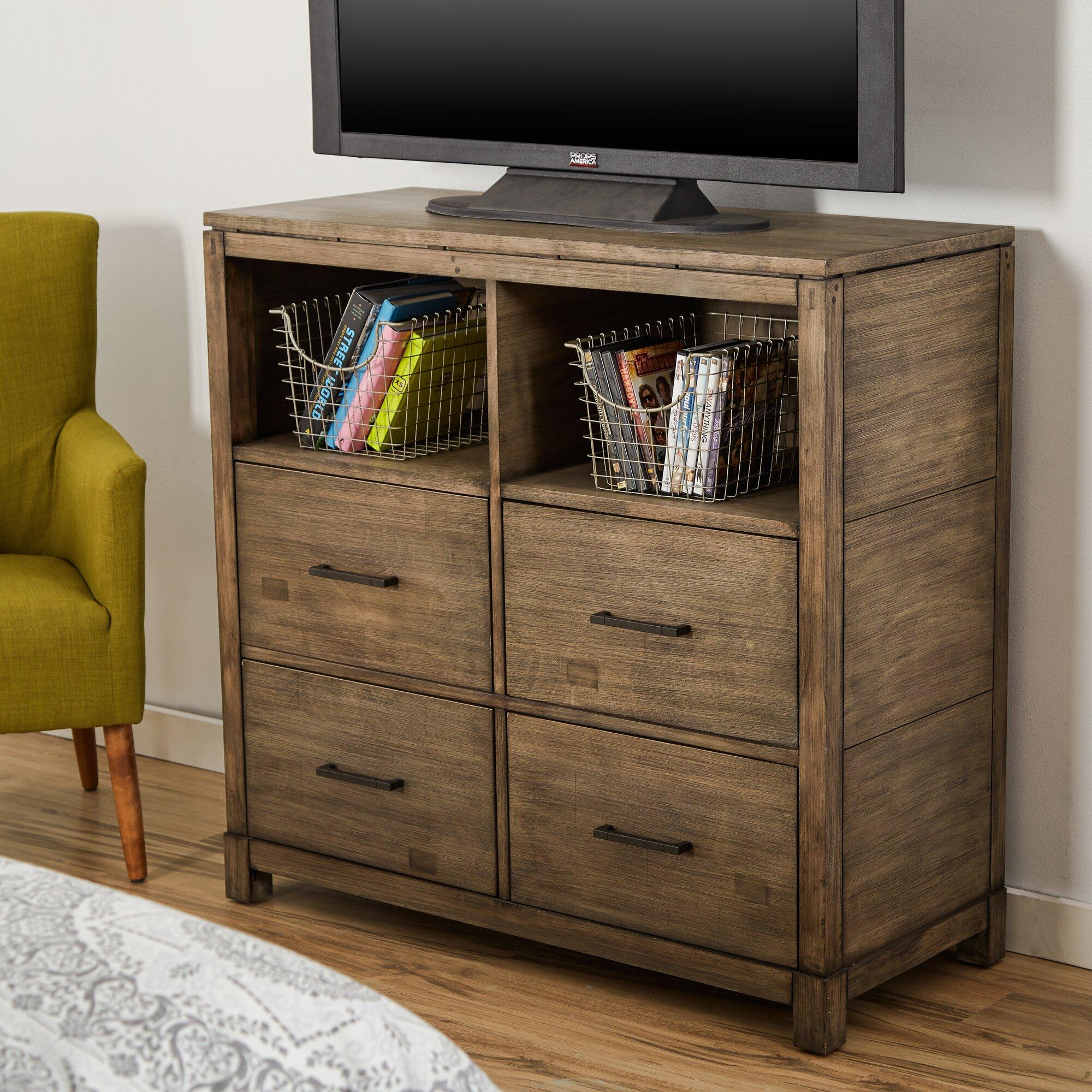 Media Chests Youll Love Wayfair - Media dresser for bedroom