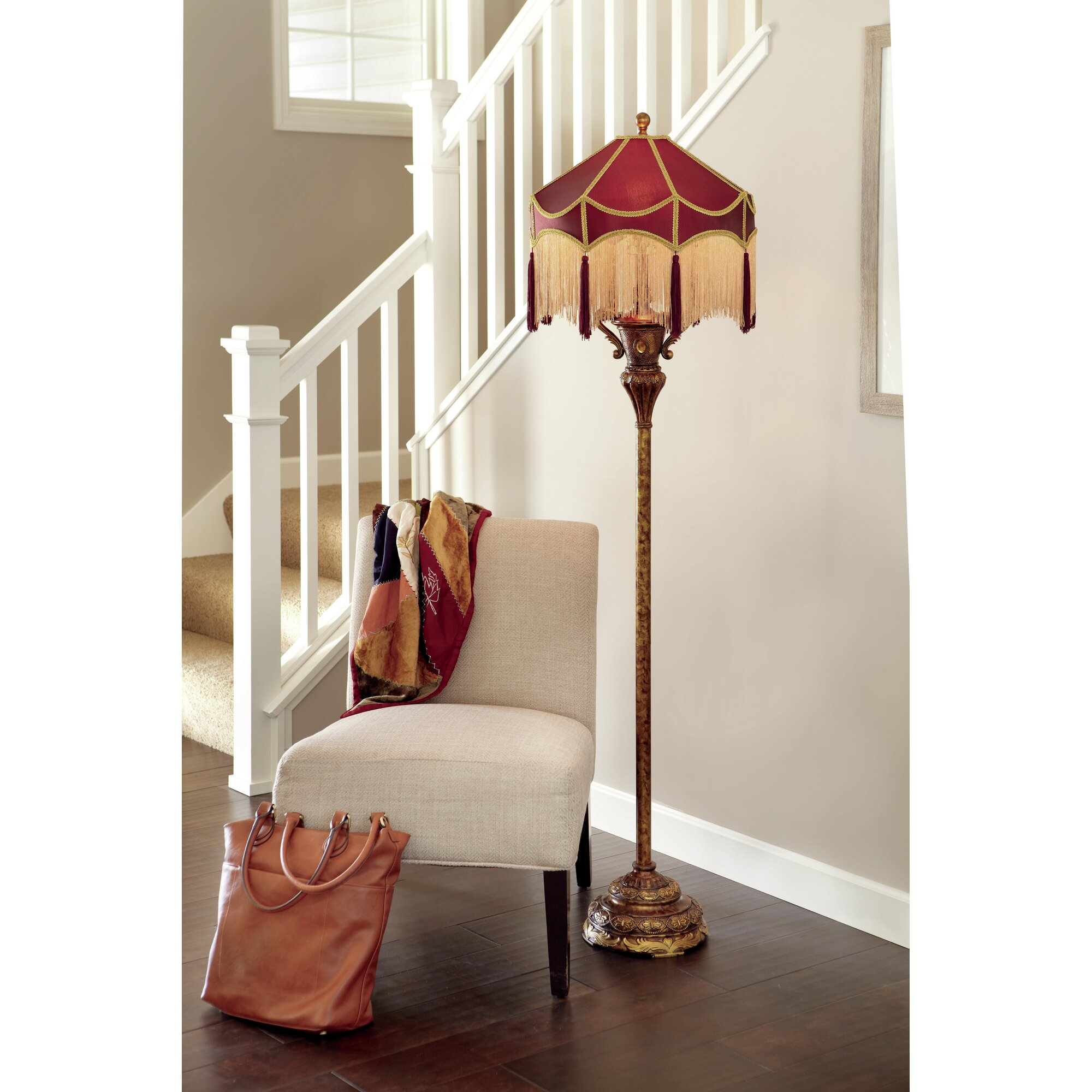 River Of Goods Downton Abbey 66 Quot Floor Lamp Amp Reviews