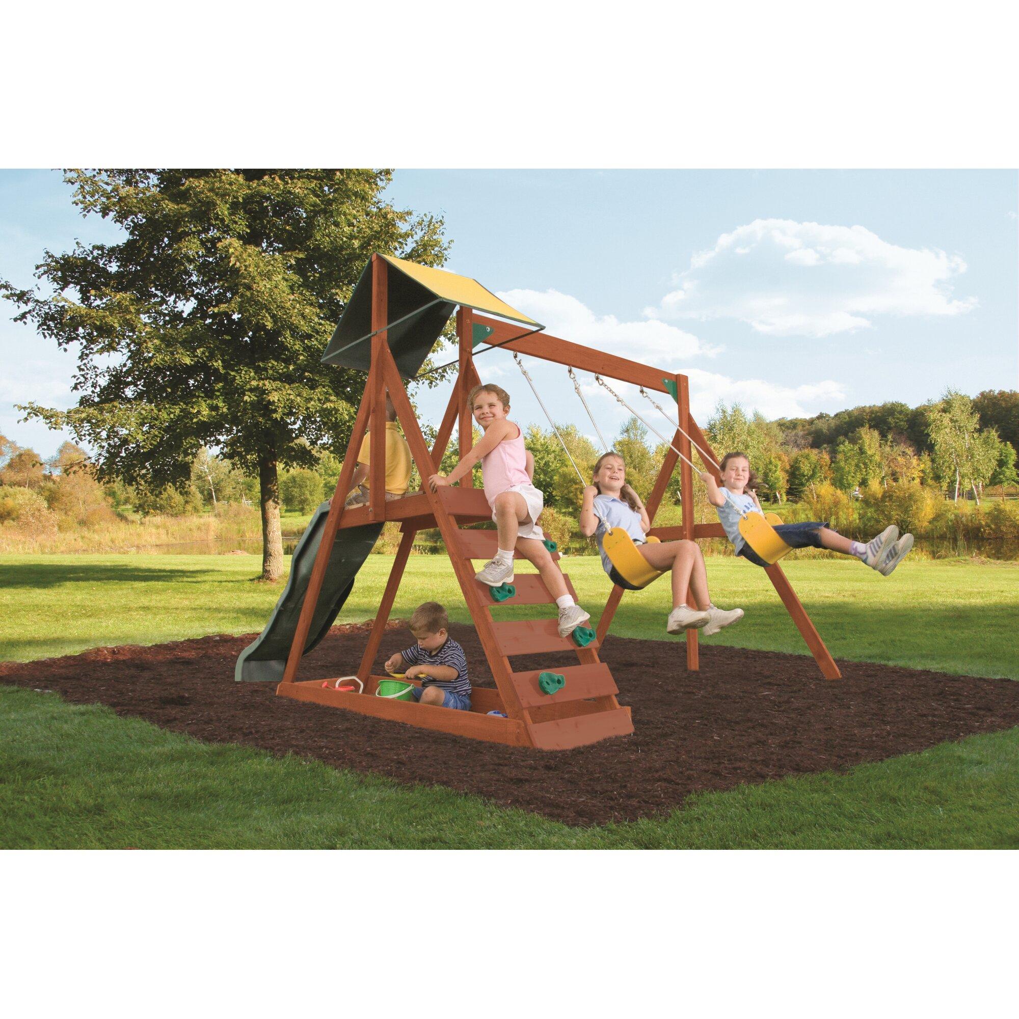Big Backyard Sunview Swing Set & Reviews