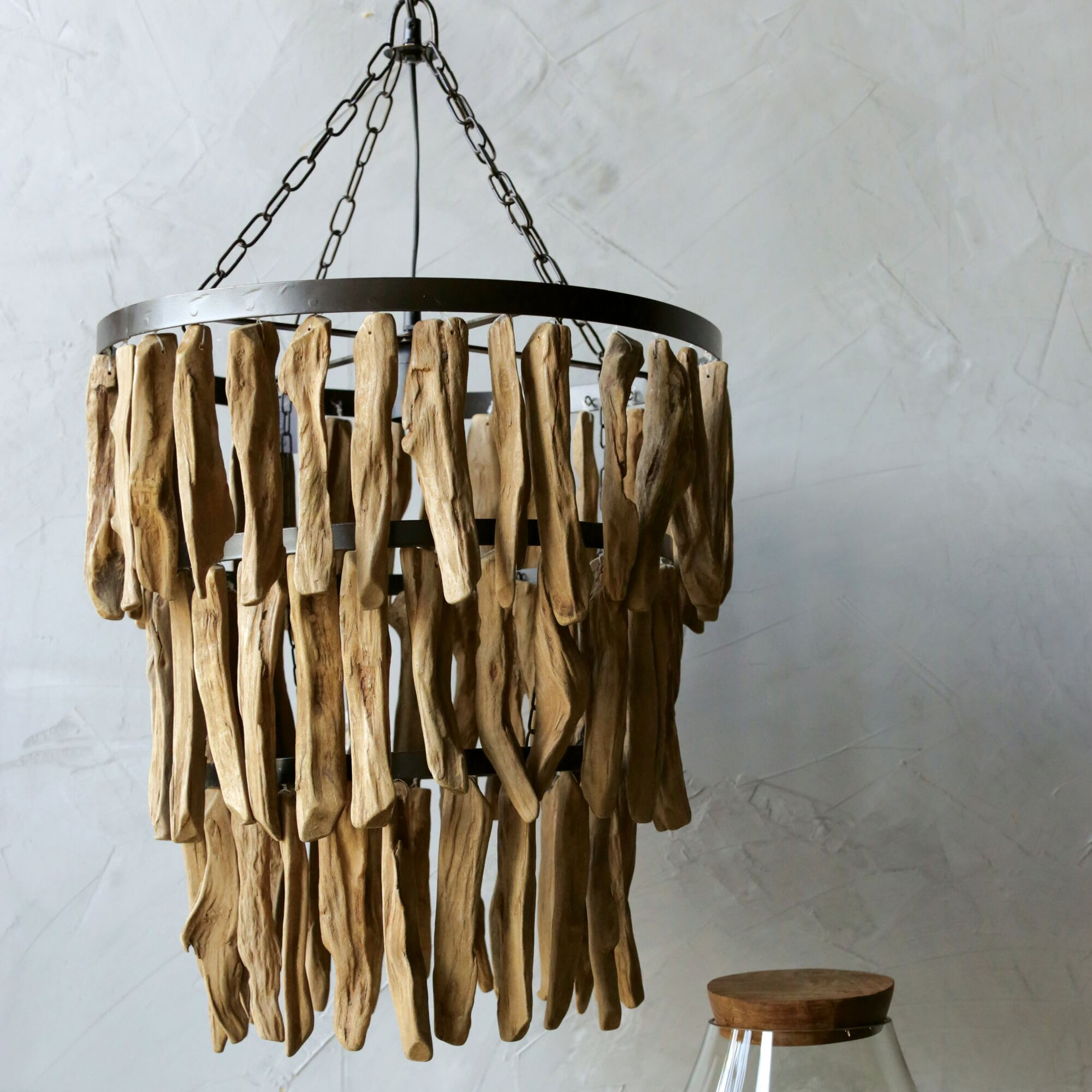 Creative co op lighting - Simply Natural Driftwood Pendant