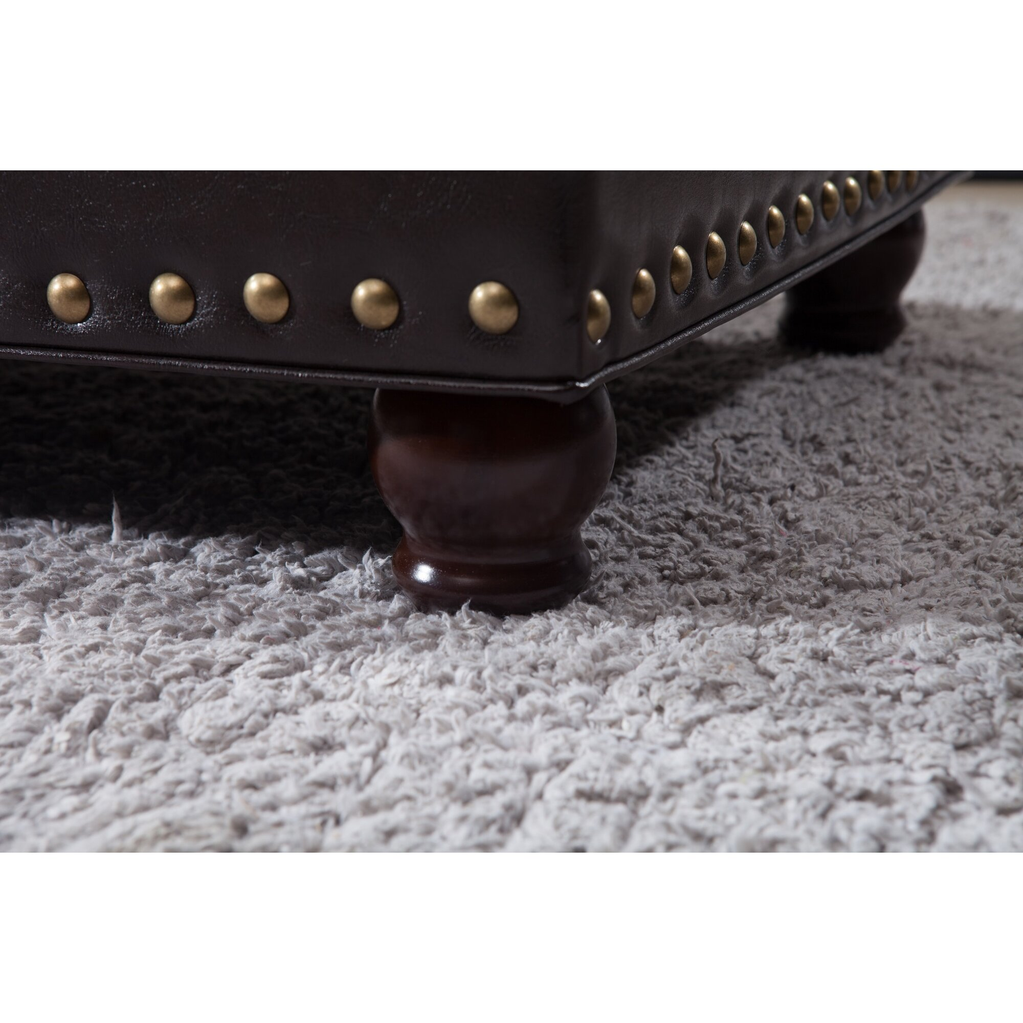 Noya Usa Castilian Upholstered Storage Bedroom Bench