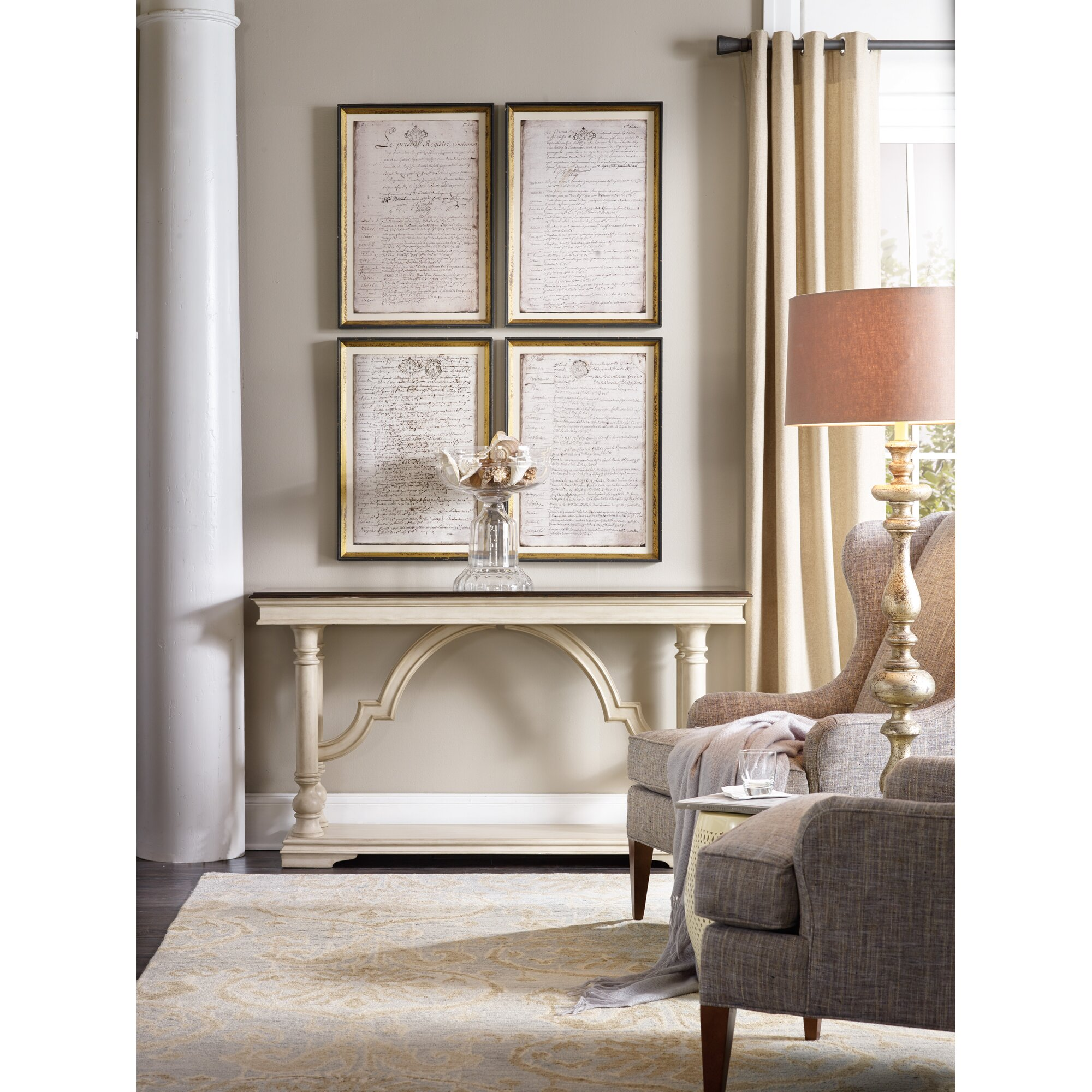 Patio Furniture Leesburg Fl: Hooker Furniture Leesburg Console Table & Reviews