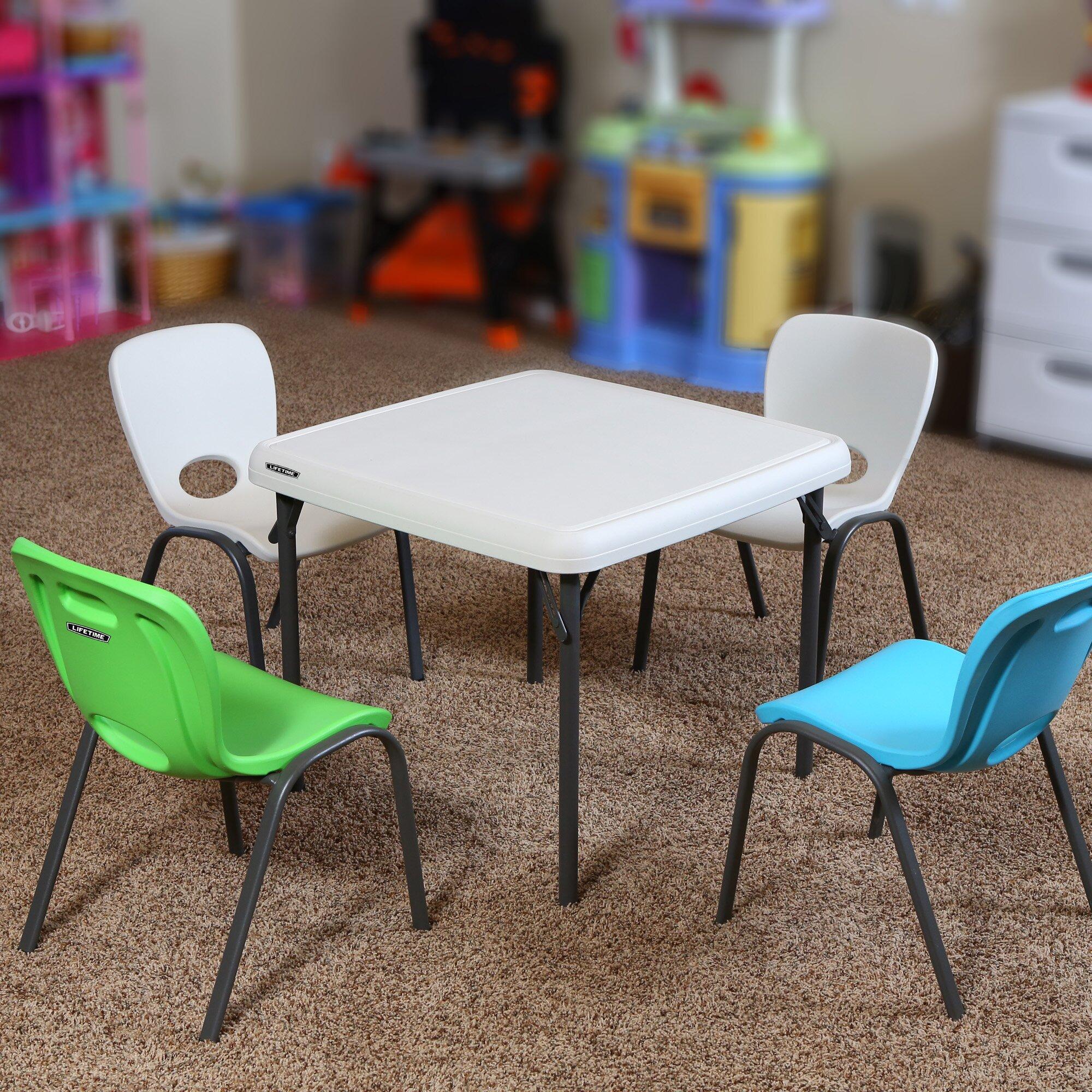 Square folding tables - 24 Square Folding Table