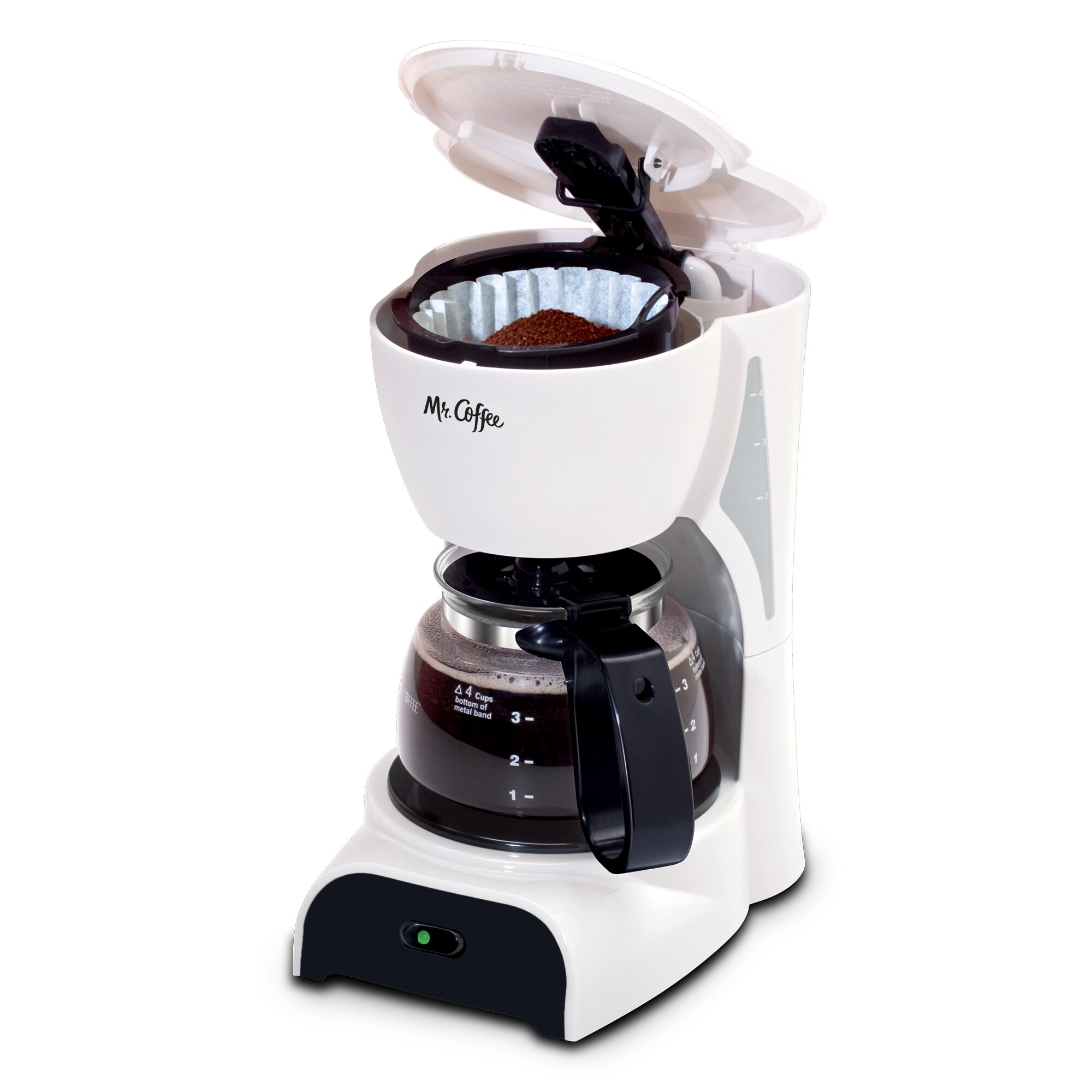 Coffee Maker Reviews 4 Cup : Mr. Coffee Simple Brew 4-Cup Switch Coffee Maker & Reviews Wayfair