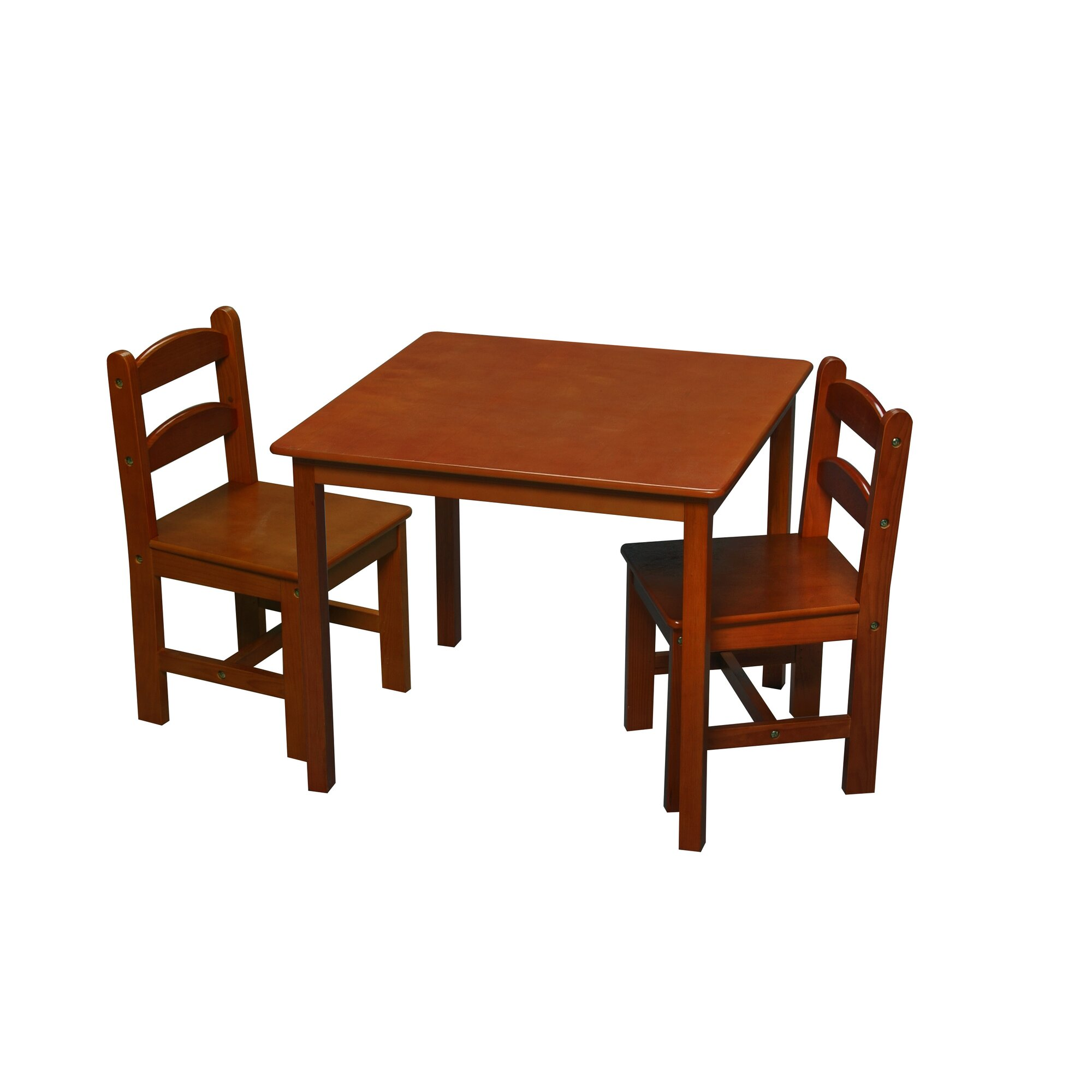 Gift mark kids 39 3 piece writing table and chair set for Table and chair set