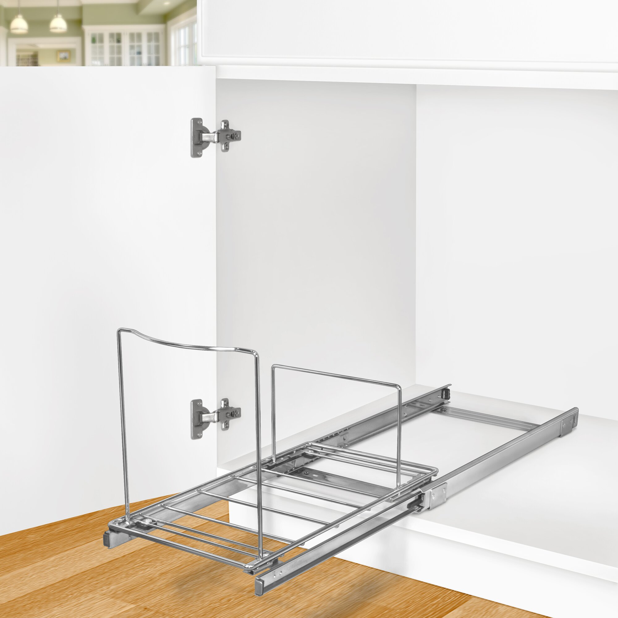 Lynk Roll Out Bin Holder - Pull Out Drawer - Under Cabinet Sliding ...