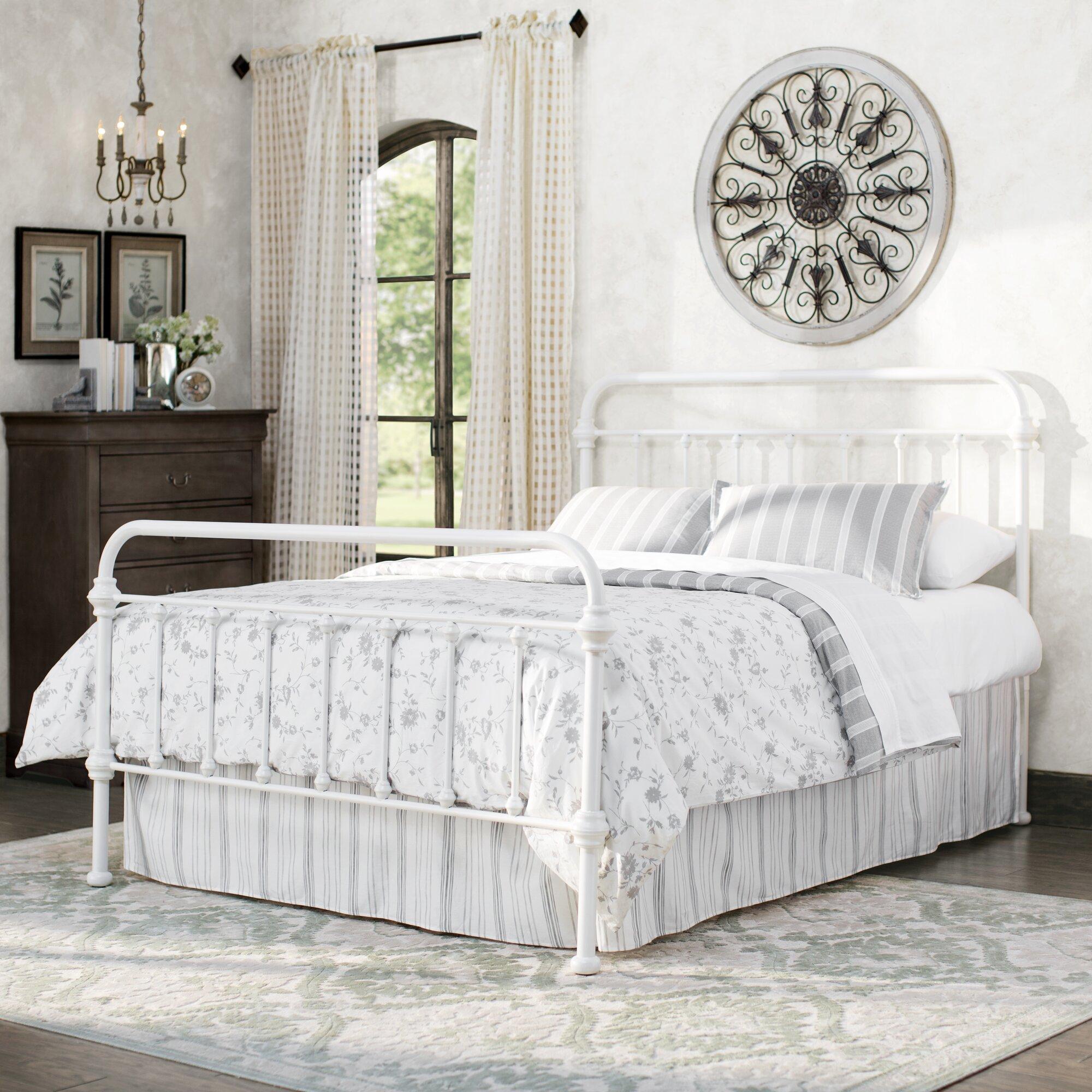 Laroche Metal Bed Queen By Lark Manor