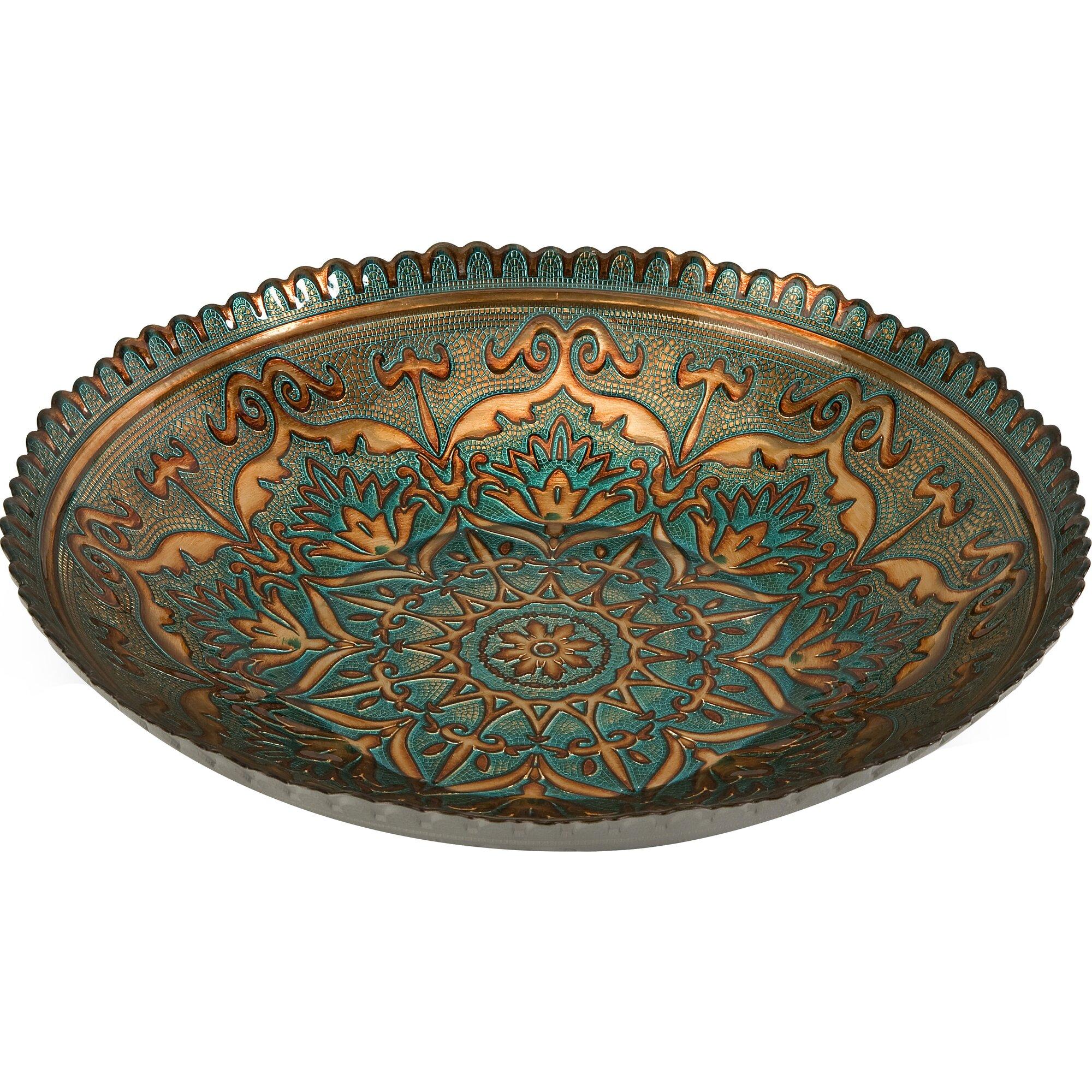 ravenna glass decorative bowl - Decorative Bowl