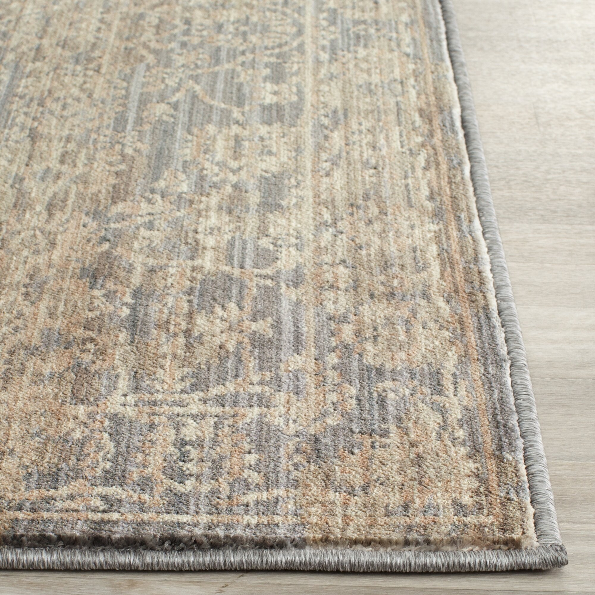 Safavieh Infinity Oriental Brown Grey Area Rug Amp Reviews
