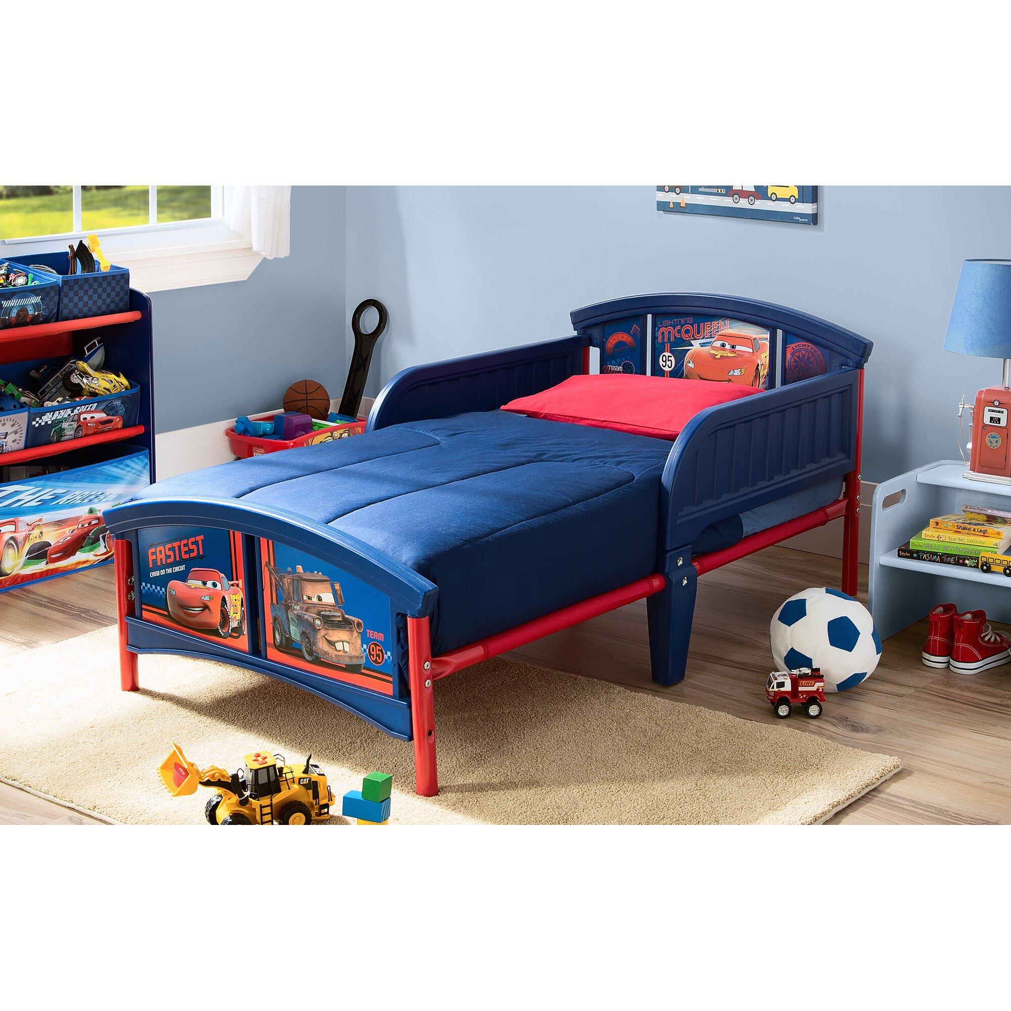 Delta Children Disney Pixar Convertible Toddler Bed