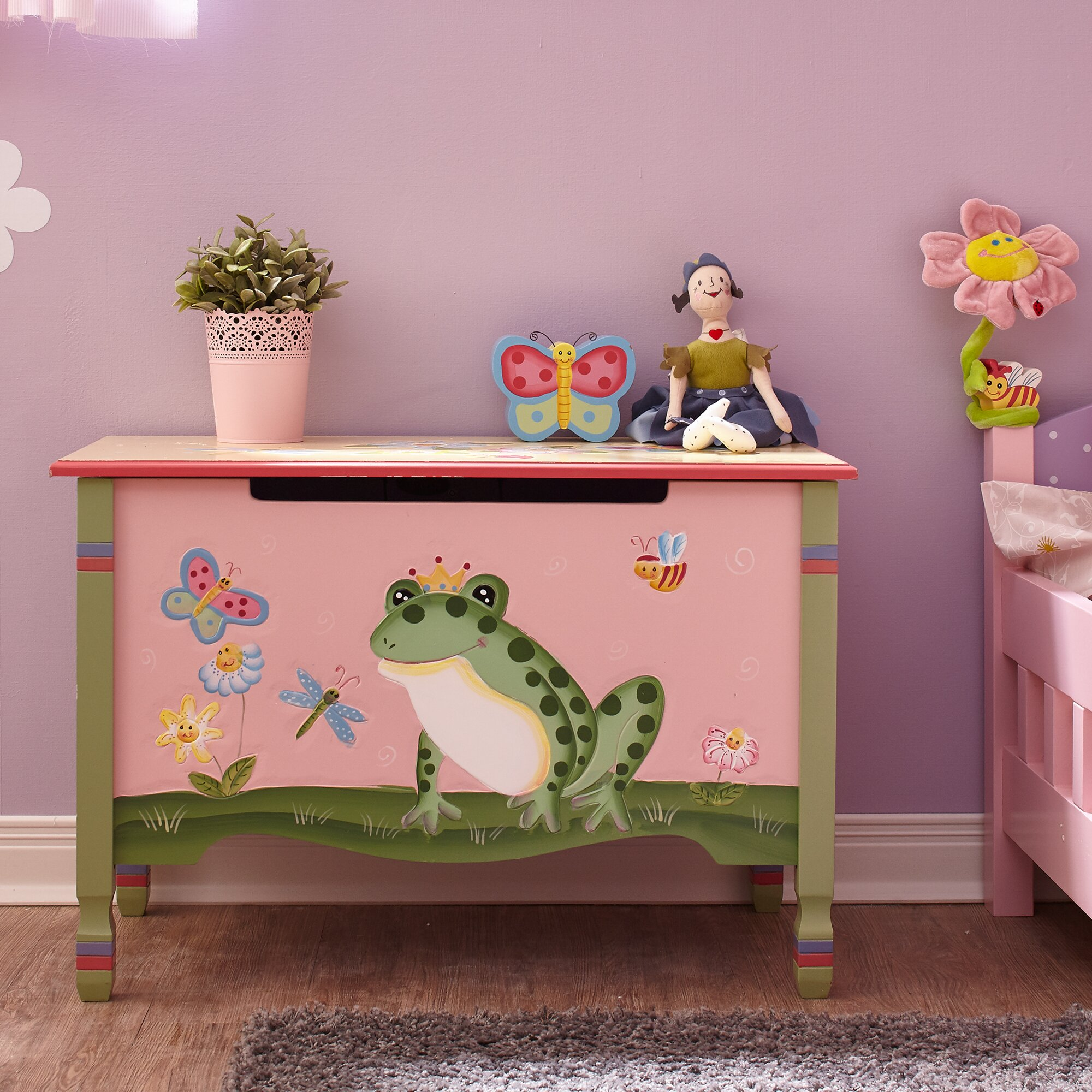 owl toy box - toy boxes benches you'll love