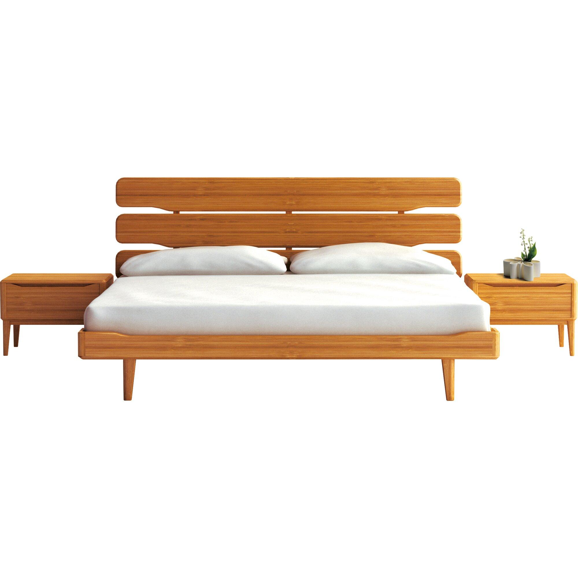 Currant platform bed reviews allmodern - Seagrass platform bed ...