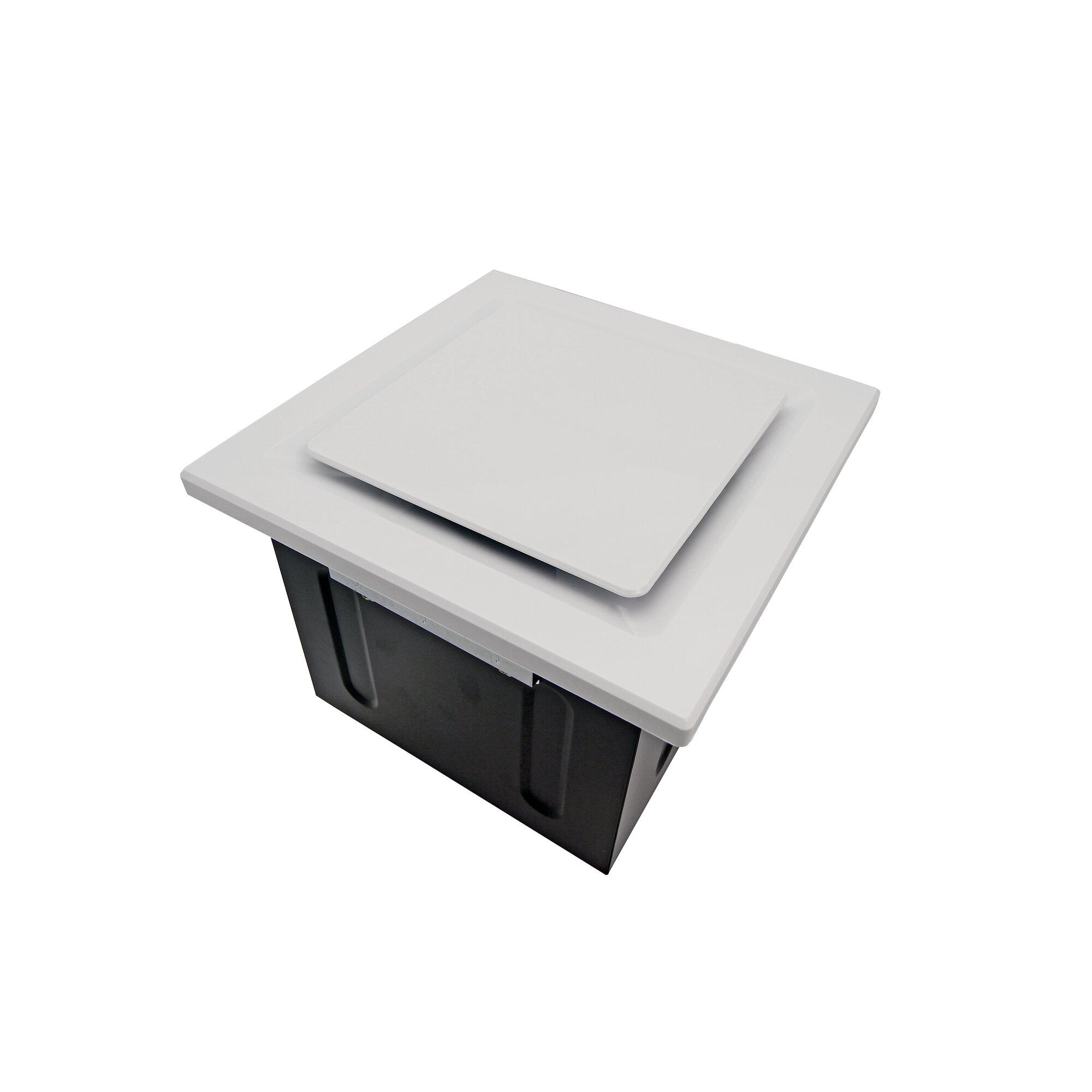 Emerson pryne bathroom exhaust fan - Super Quiet 80 Cfm Bathroom Ventilation Fan