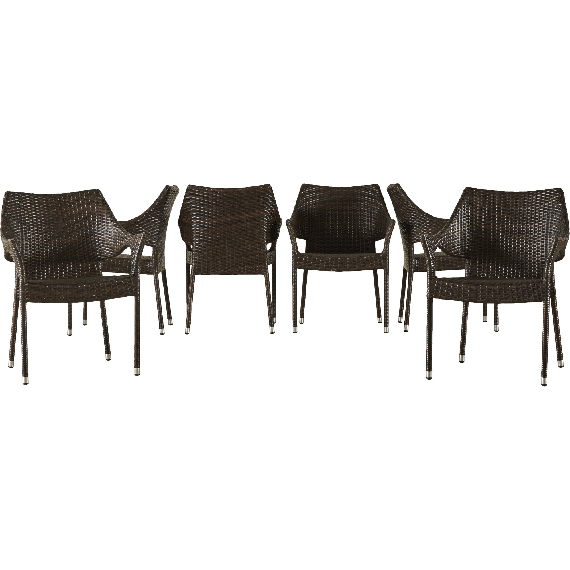 Nevius 7 piece dining set reviews allmodern for 7 piece dining set