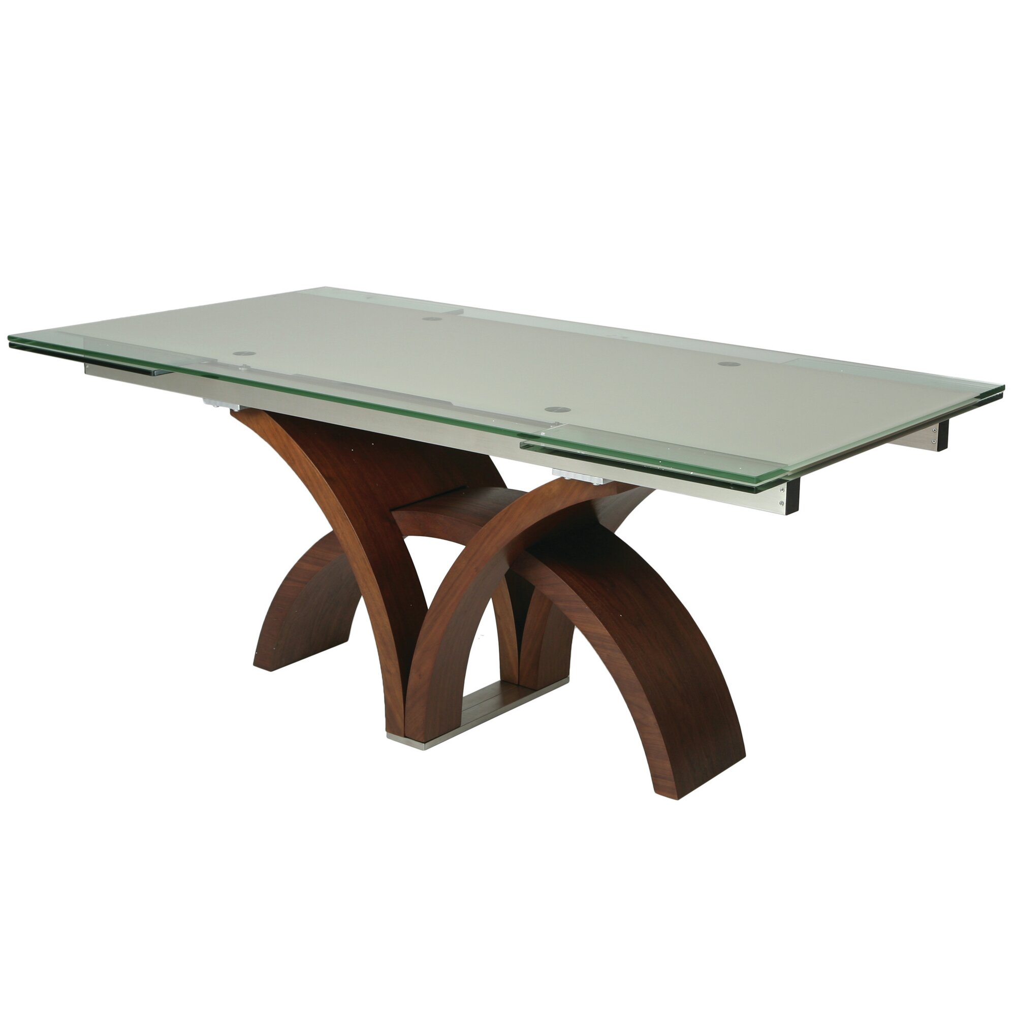 Impacterra Fountain Valley Extendable Dining Table Reviews Wayfair . Modern  Bathroom ...