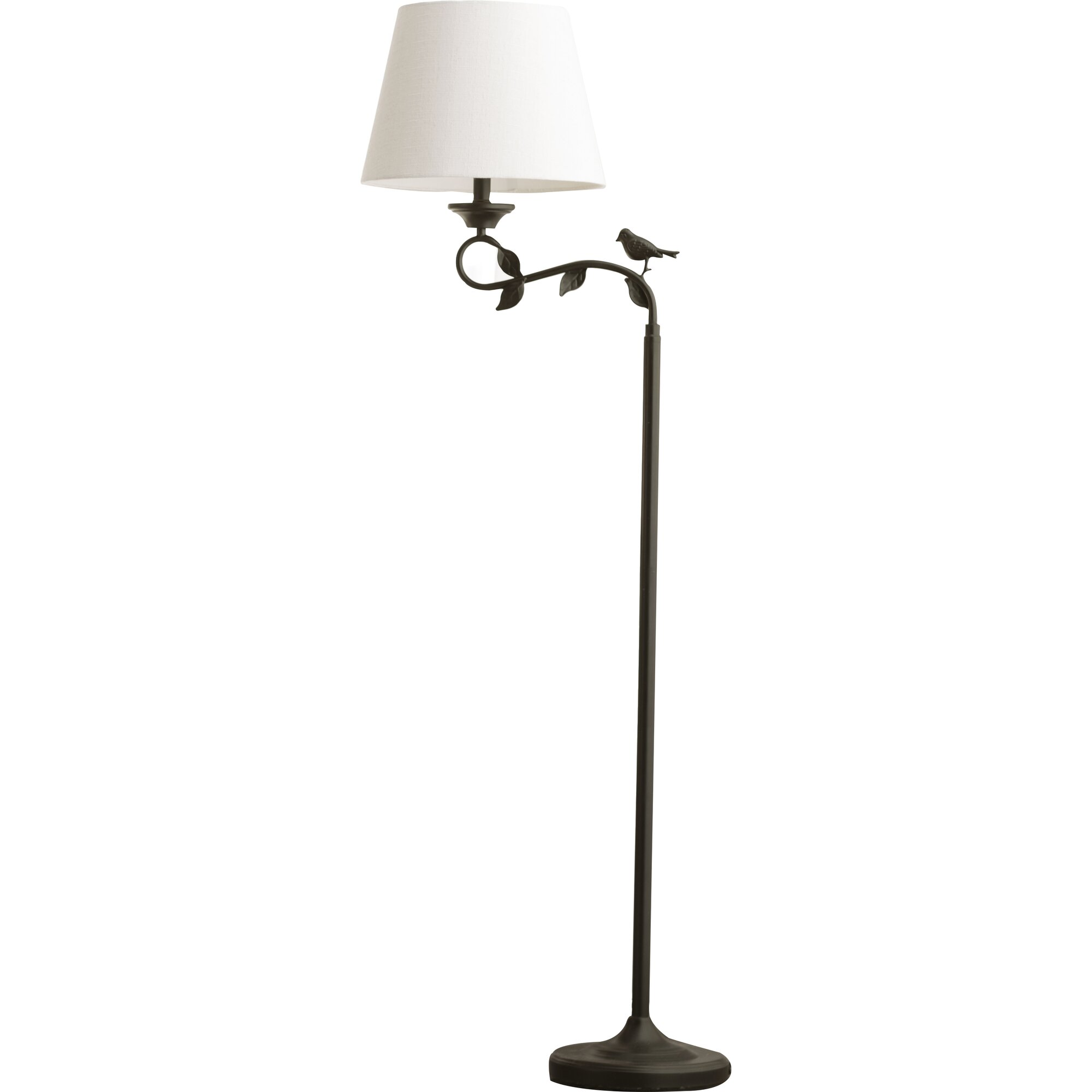 Lark manor chaumont 60 arched floor lamp reviews for Arch floor lamps for living room