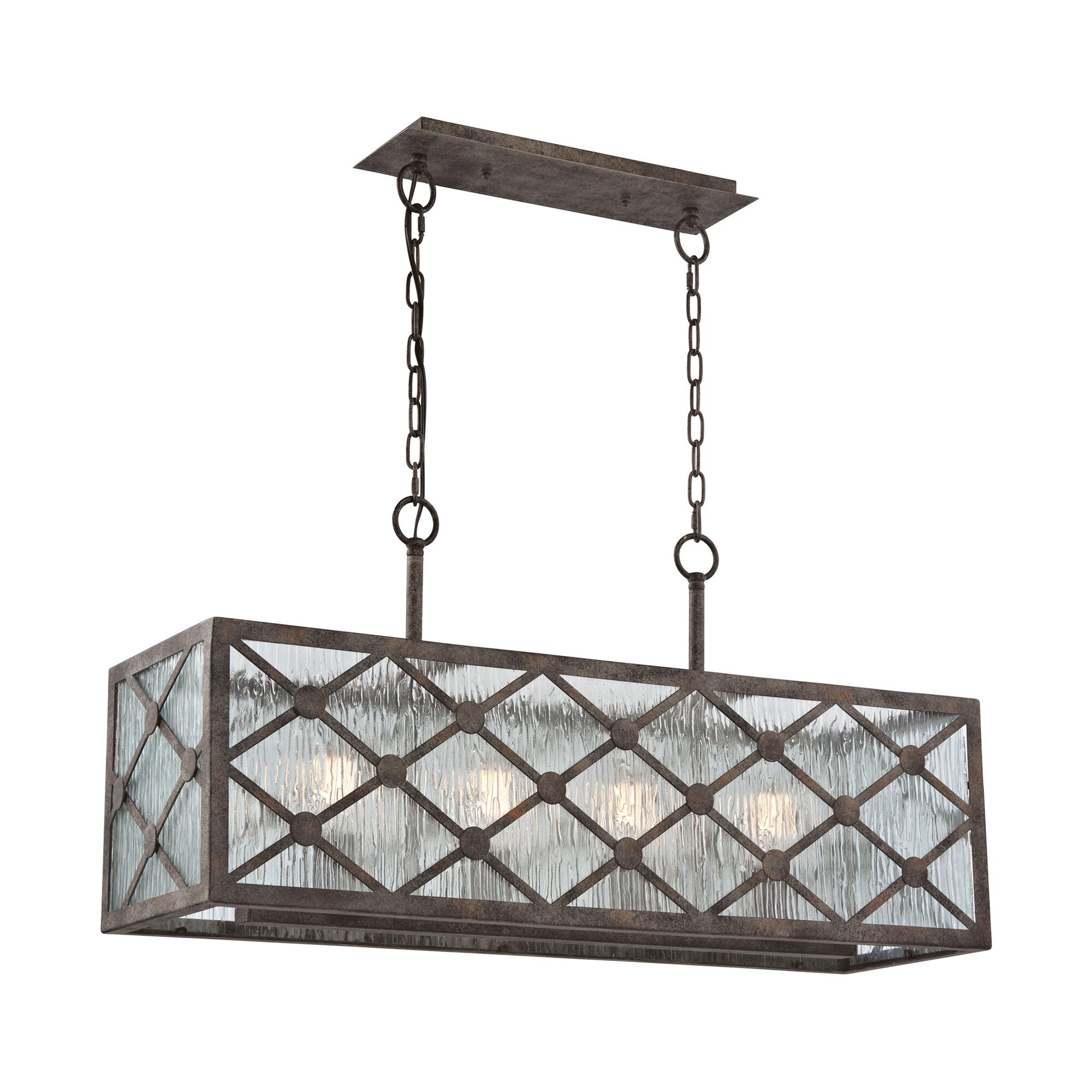brayden studio dailey 4 light kitchen island pendant