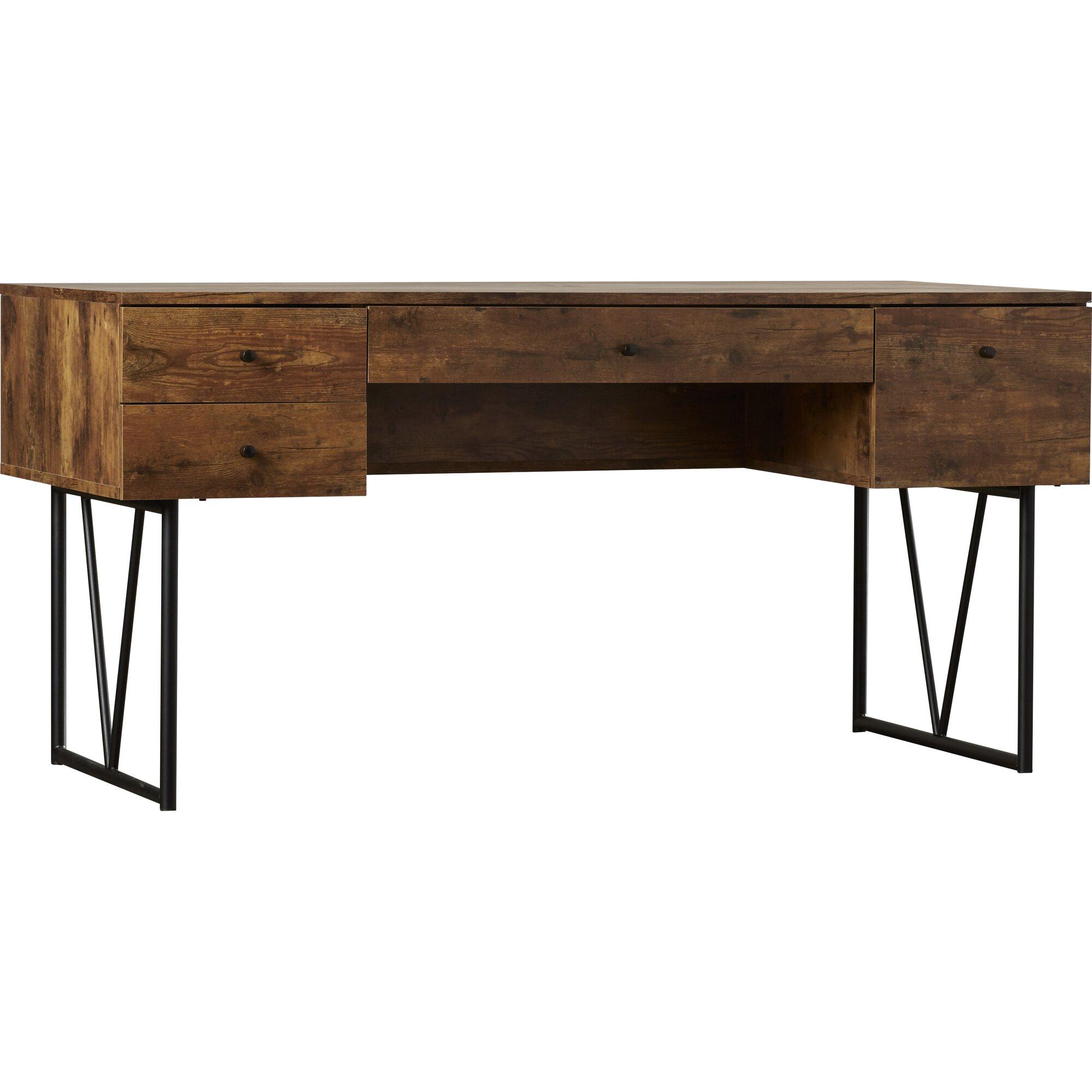 trent austin design granite 4 drawers writing desk reviews. Black Bedroom Furniture Sets. Home Design Ideas
