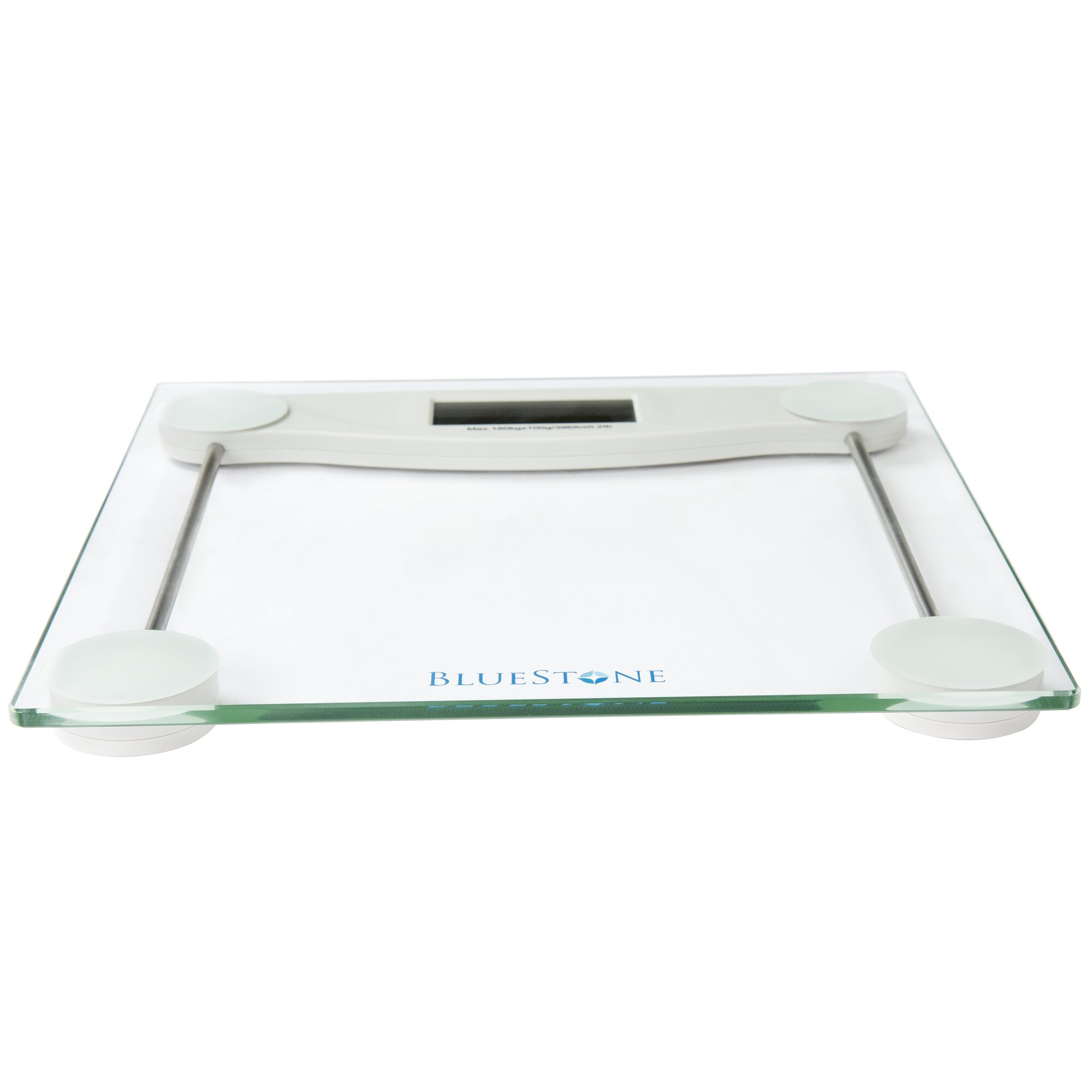 Glass bathroom scales - Digital Glass Bathroom Scale With Lcd Display