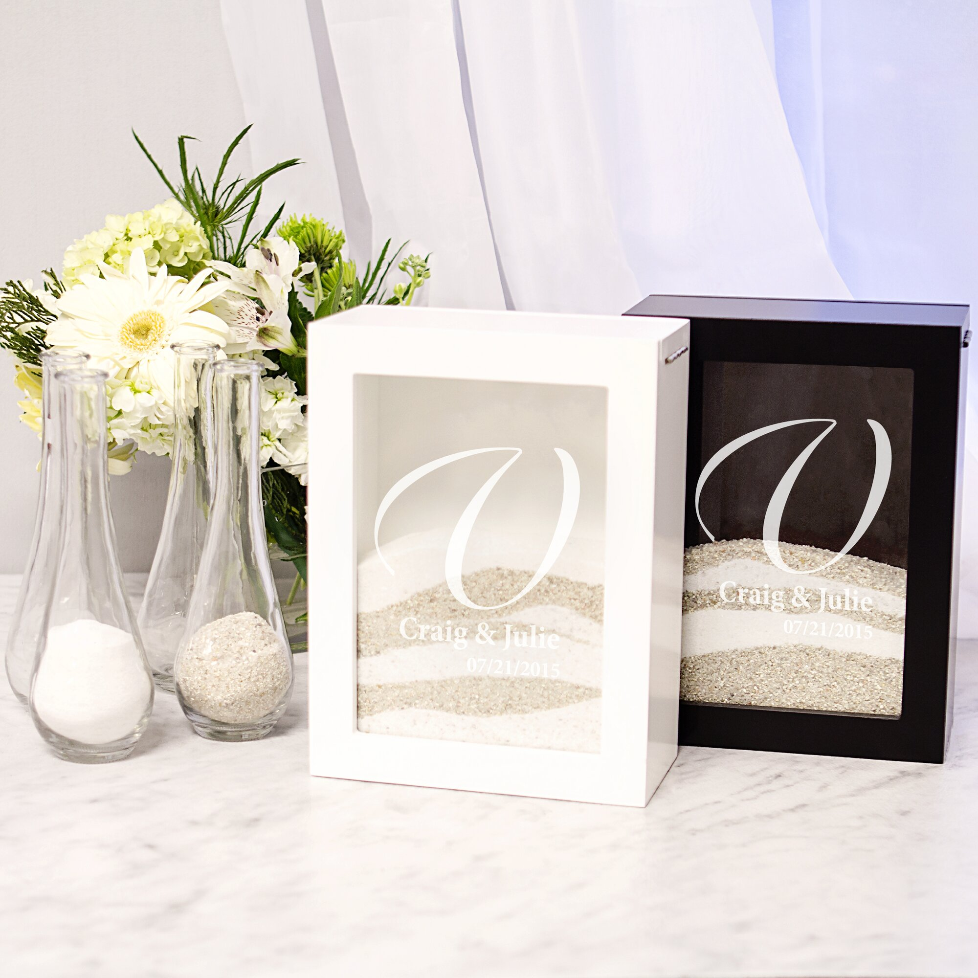 Cathys Concepts Wedding Unity Sand Ceremony Shadow Box Set Amp Reviews