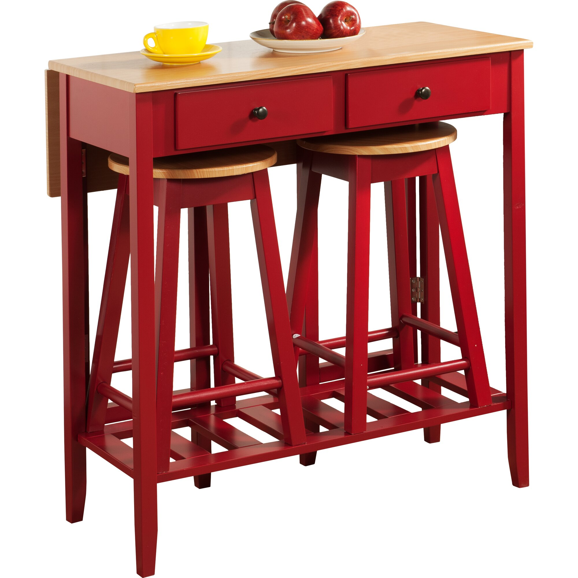 InRoom Designs 3 Piece Pub Table Set amp Reviews Wayfair : 3PiecePubTableSet from www.wayfair.com size 2000 x 2000 jpeg 303kB