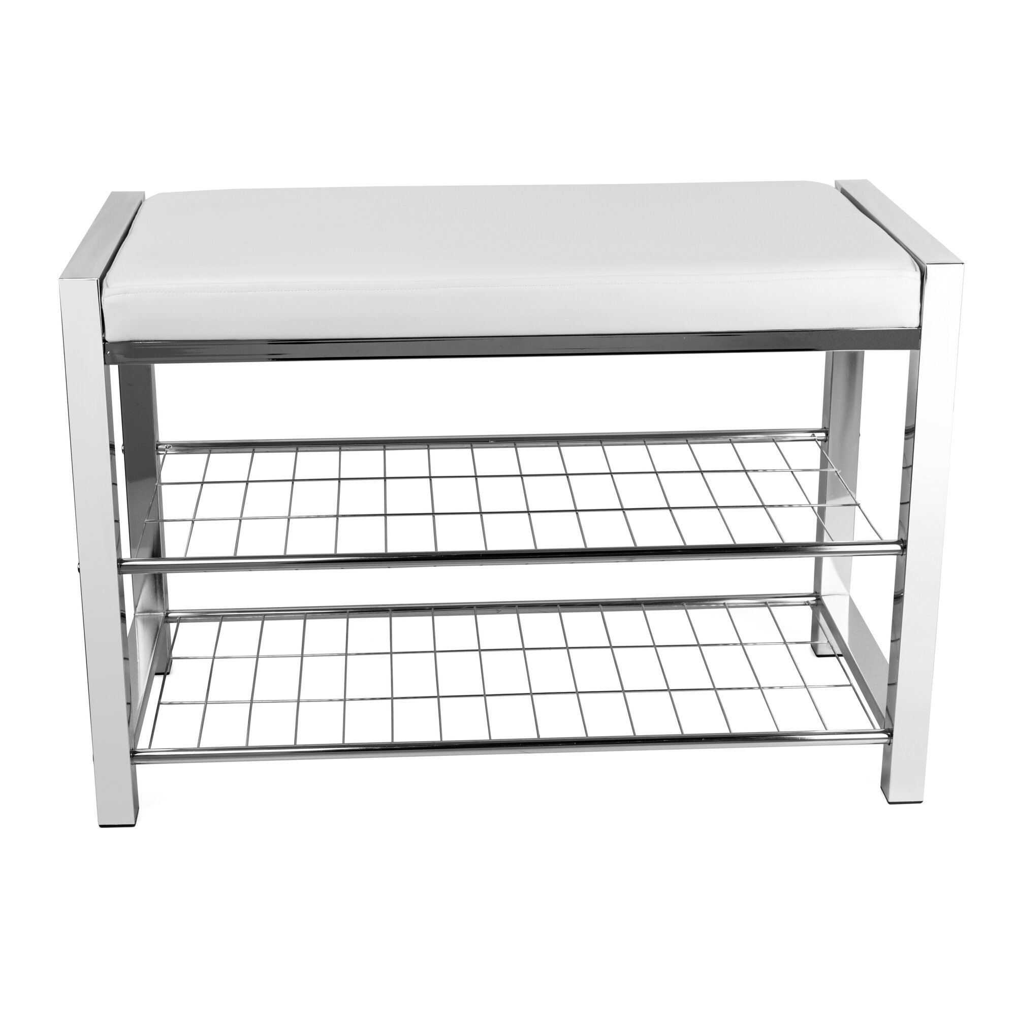 Metal Foyer Bench : Zipcode design gladys metal storage entryway bench