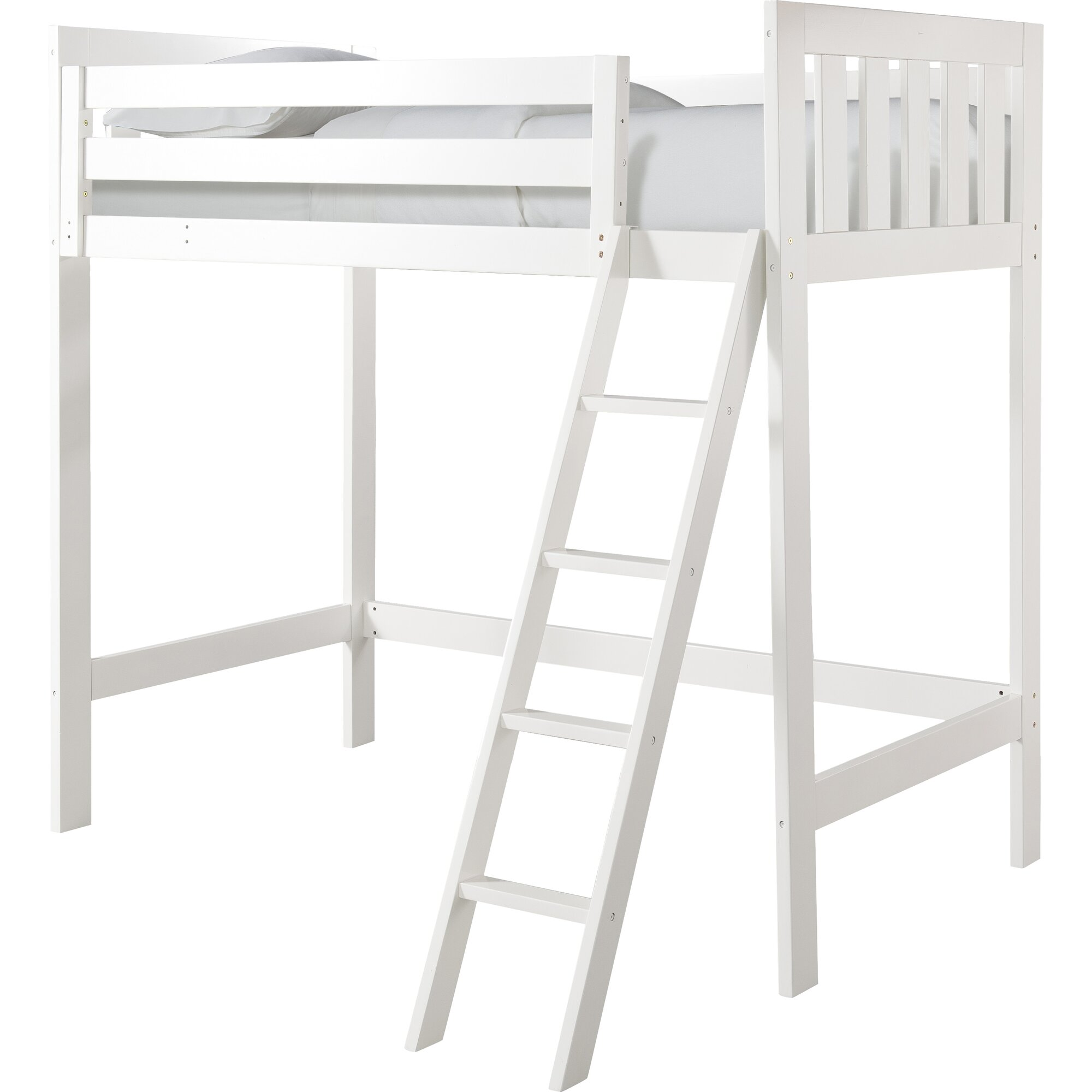 canwood furniture - canwood furniture lakecrest twin loft bed reviews wayfair