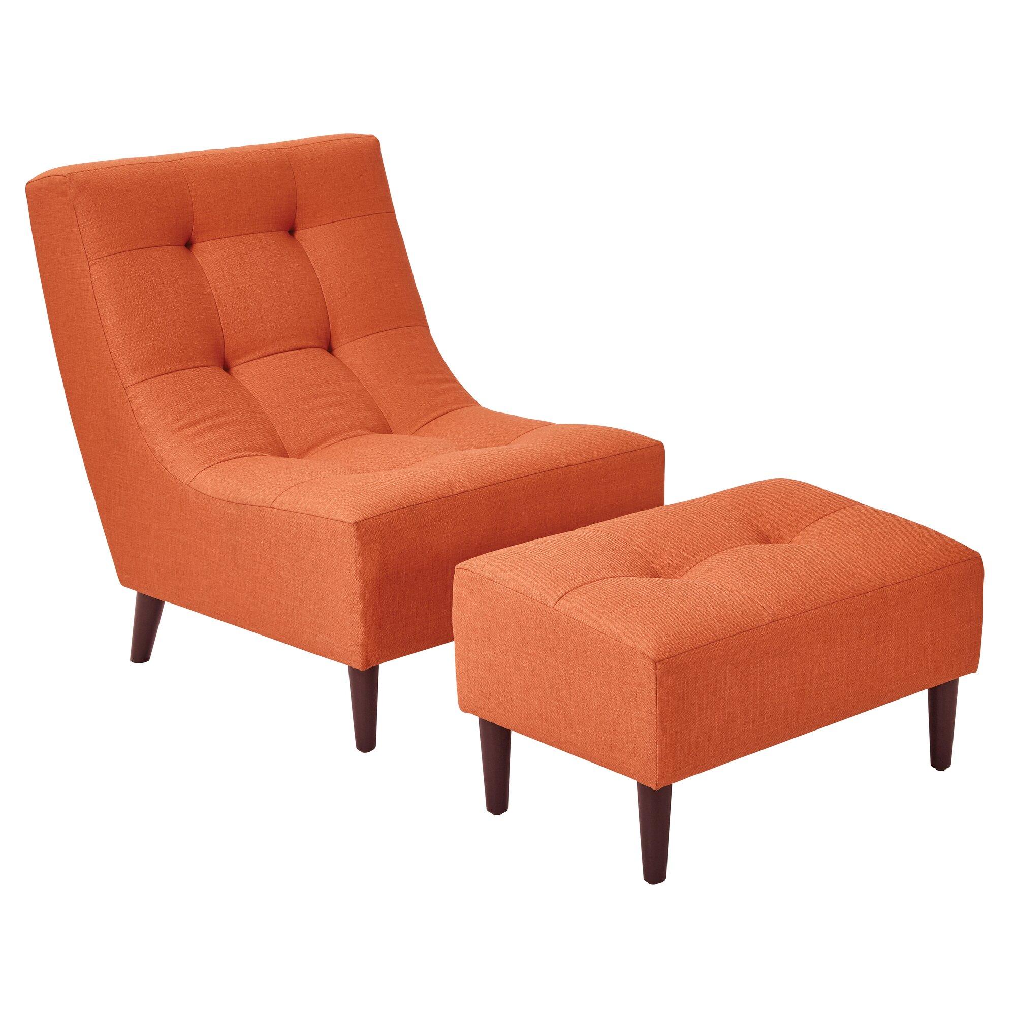 latitude run martha lounge chair and ottoman reviews wayfair. Black Bedroom Furniture Sets. Home Design Ideas