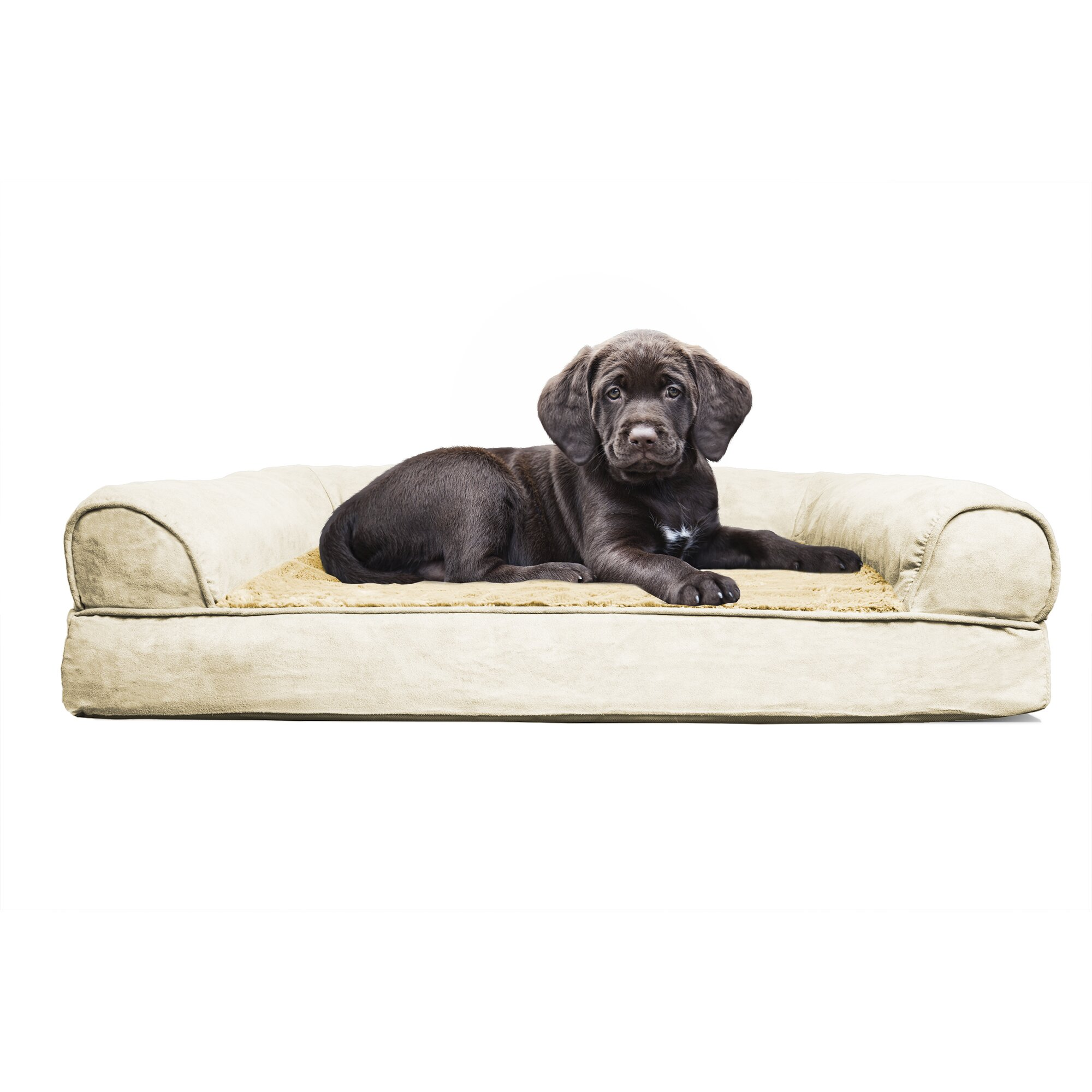 Furhaven Furhaven Plush Orthopedic Sofa Style Dog Bed Reviews