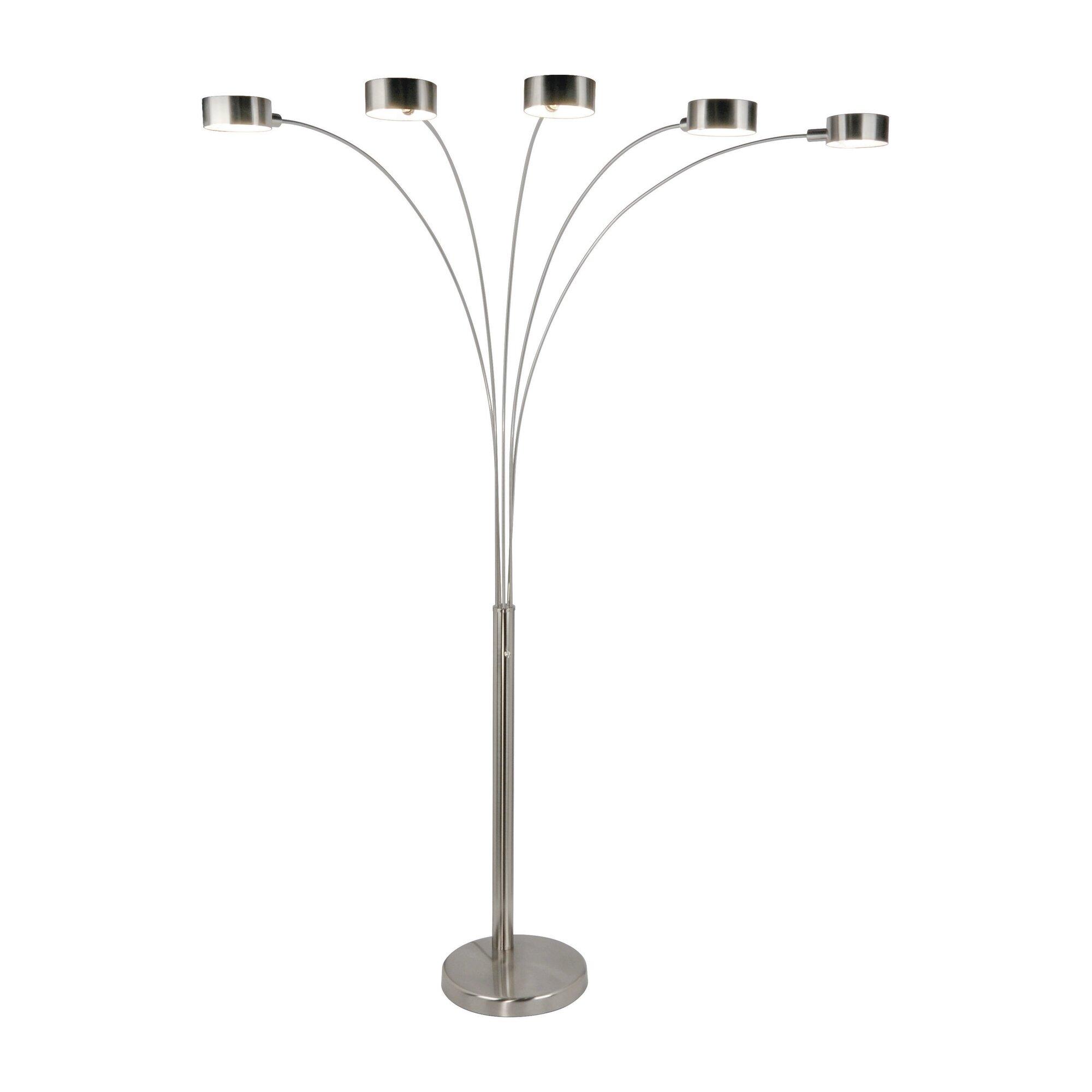 Artiva usa micah 88 arched floor lamp reviews wayfair for Floor 88 aqilah