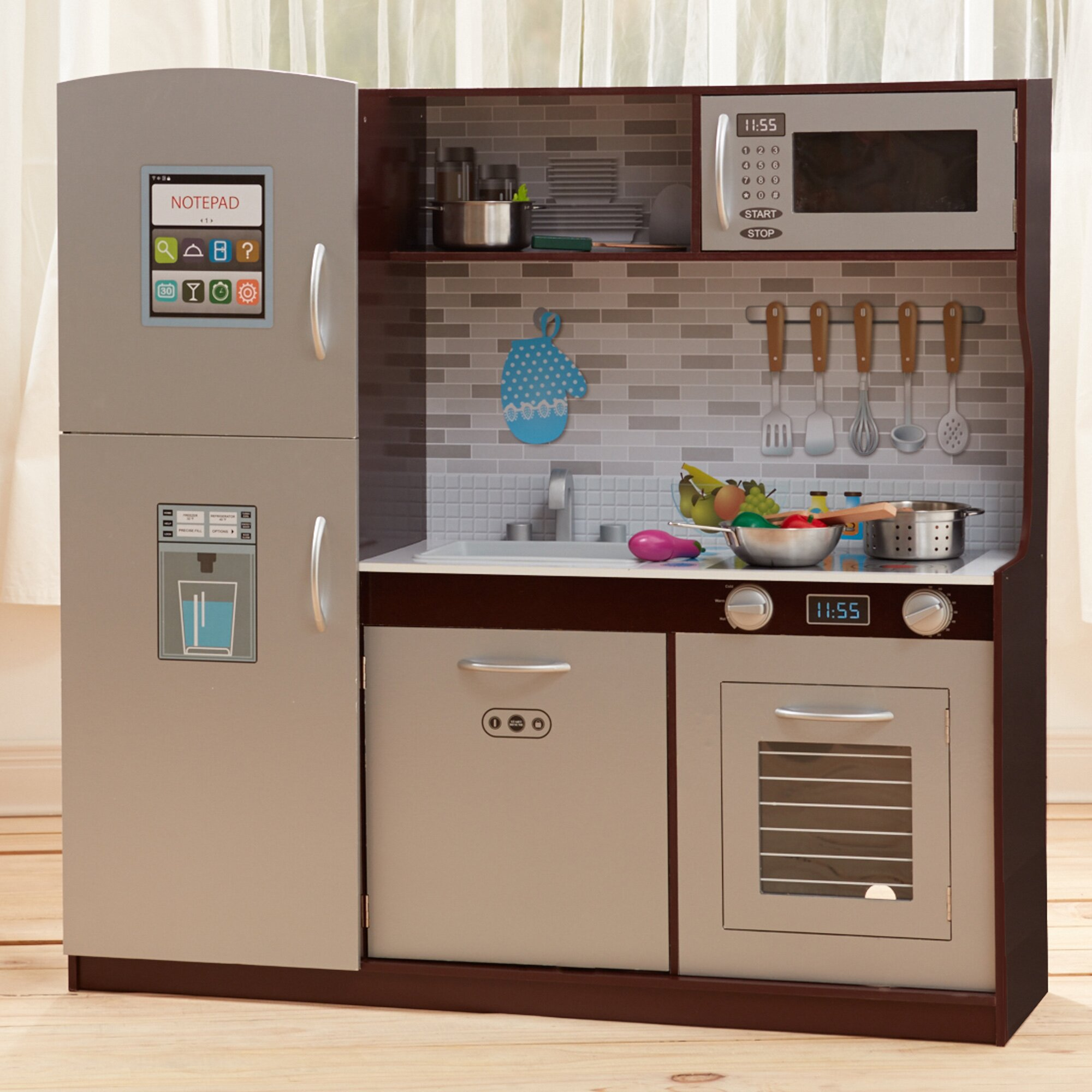 Play Kitchens On Sale: Teamson Kids My Little Chef Uptown Play Kitchen & Reviews