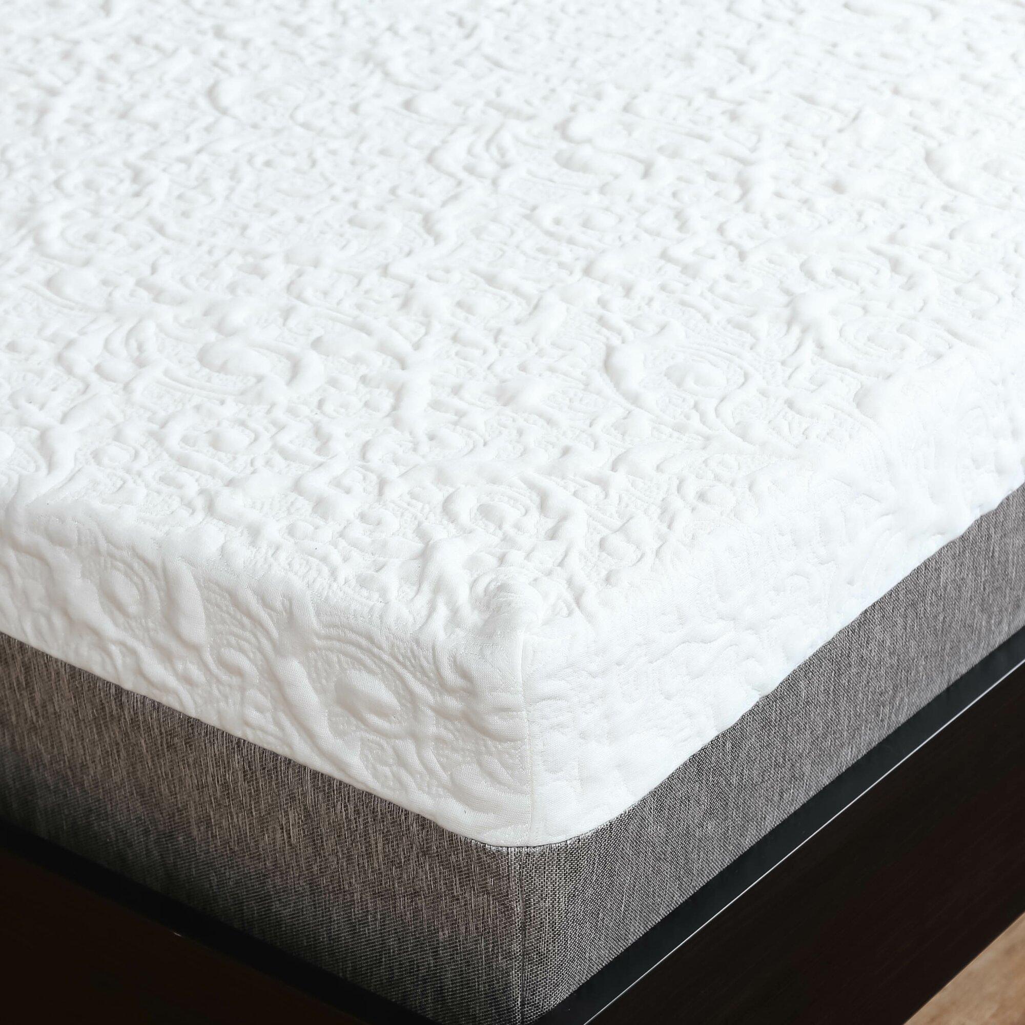 Designed To Sleep Embrace 10 Medium Firm Gel Memory Foam Mattress Reviews
