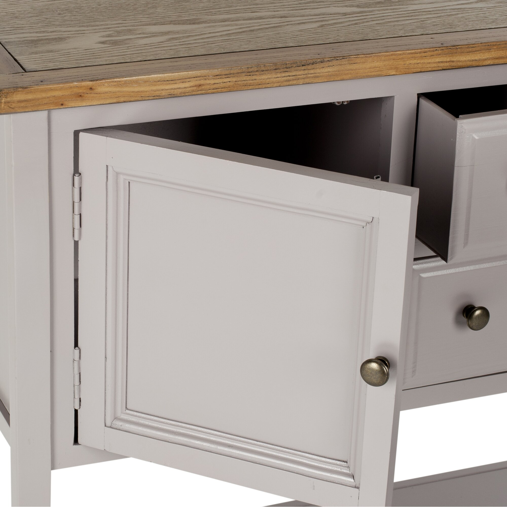 charlotte shag 2 door console table reviews birch lane. Black Bedroom Furniture Sets. Home Design Ideas